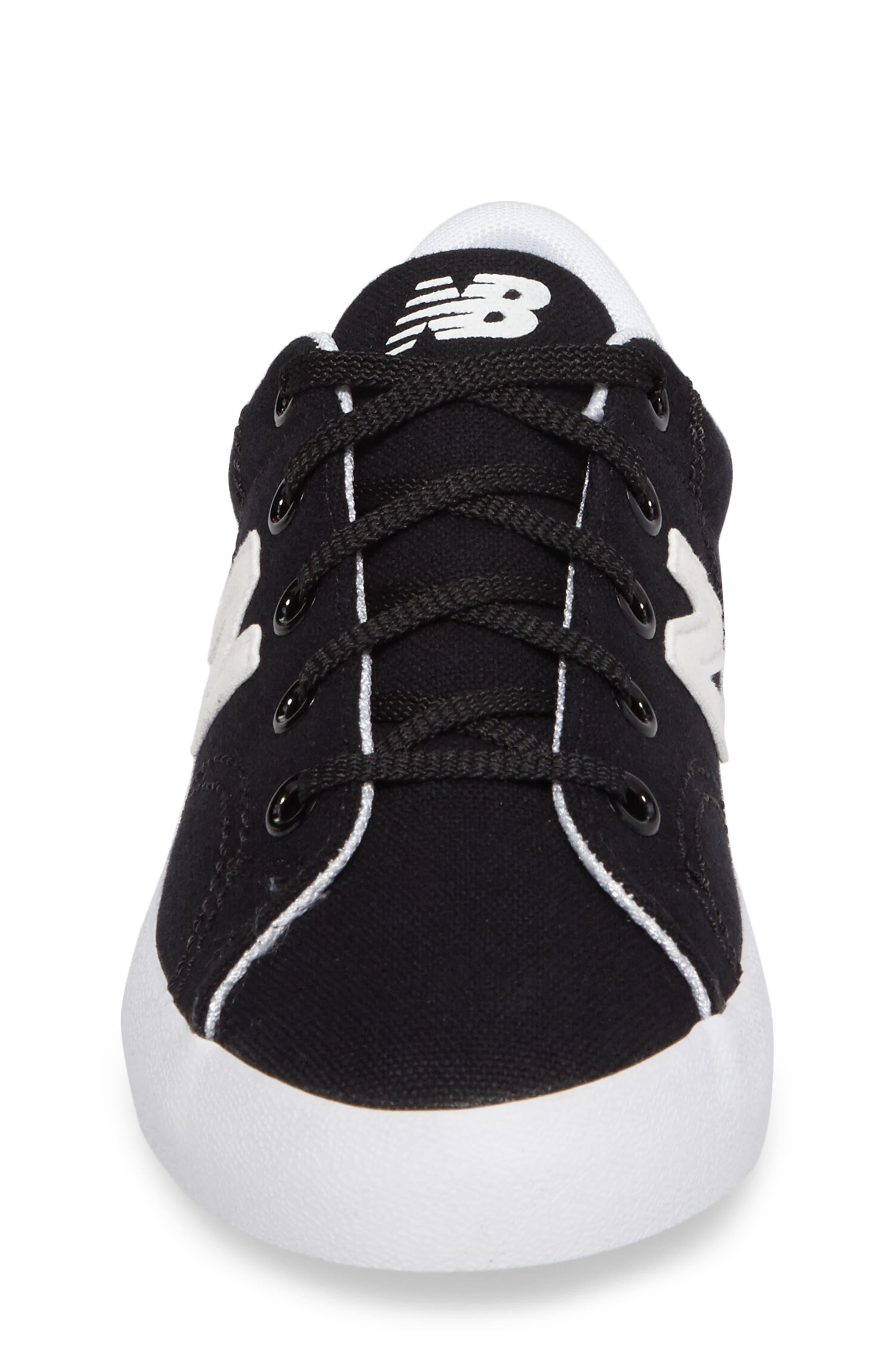Pro Court Sneaker,                             Alternate thumbnail 4, color,                             001