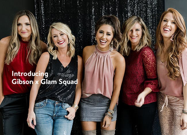 Introducing Gibson x Glam Squad.