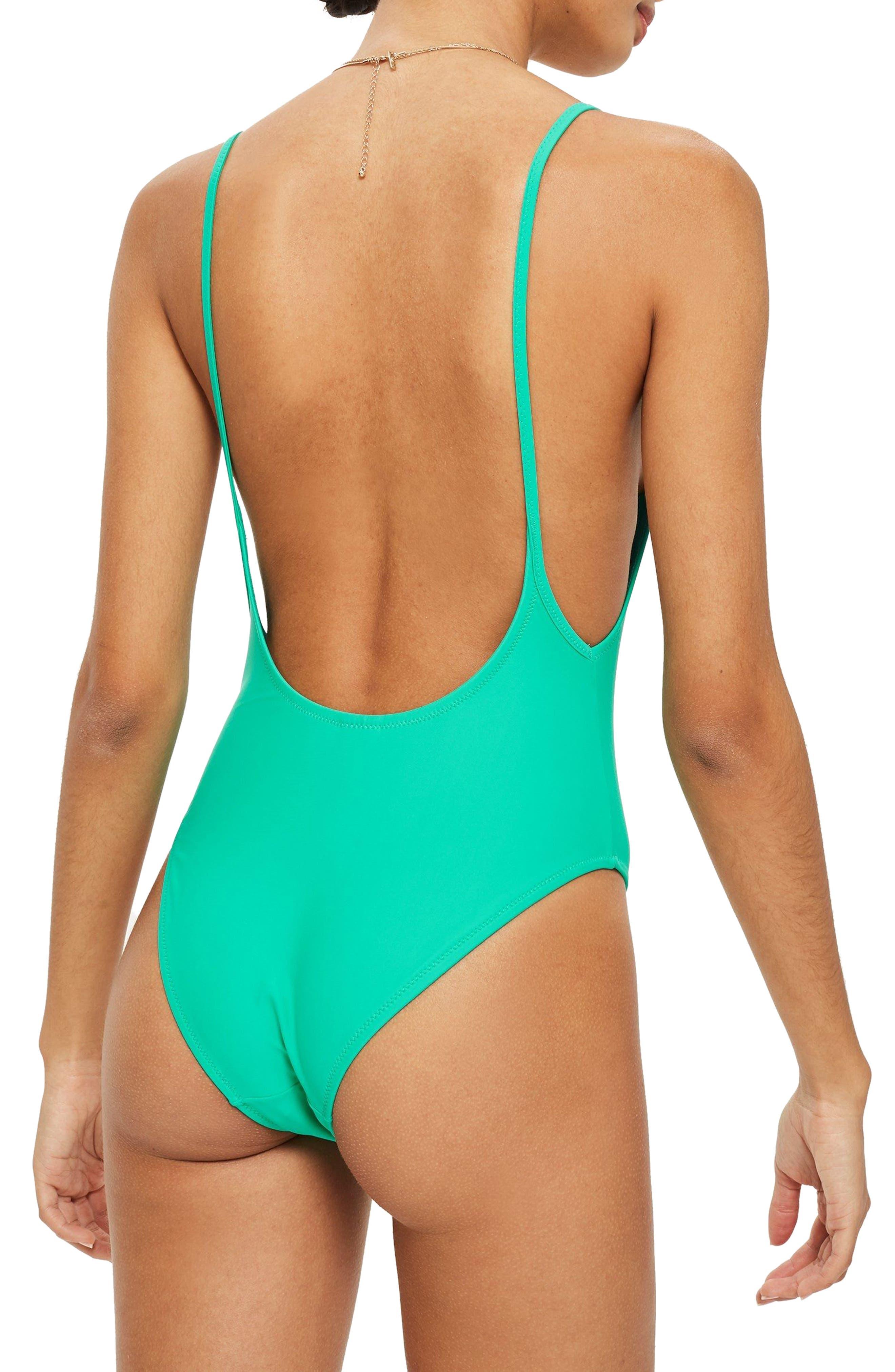 Pamela One-Piece Swimsuit,                             Alternate thumbnail 2, color,                             TEAL