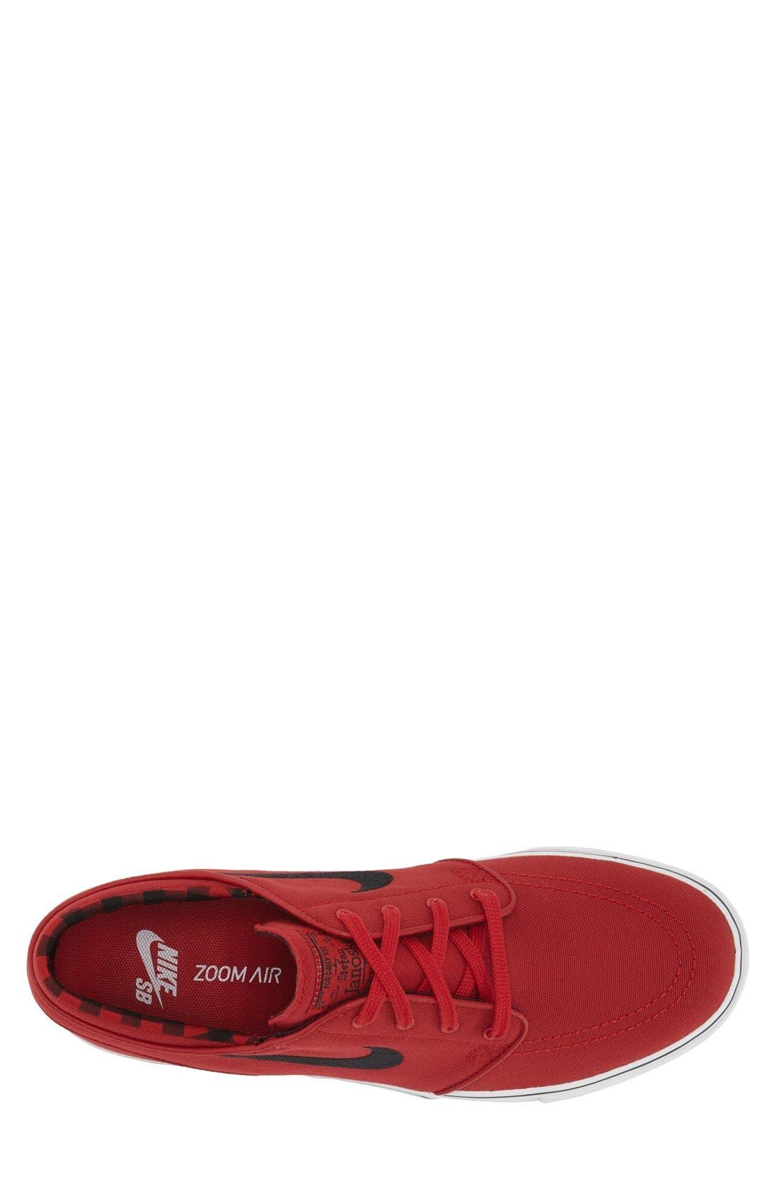 Zoom - Stefan Janoski SB Canvas Skate Shoe,                             Alternate thumbnail 123, color,