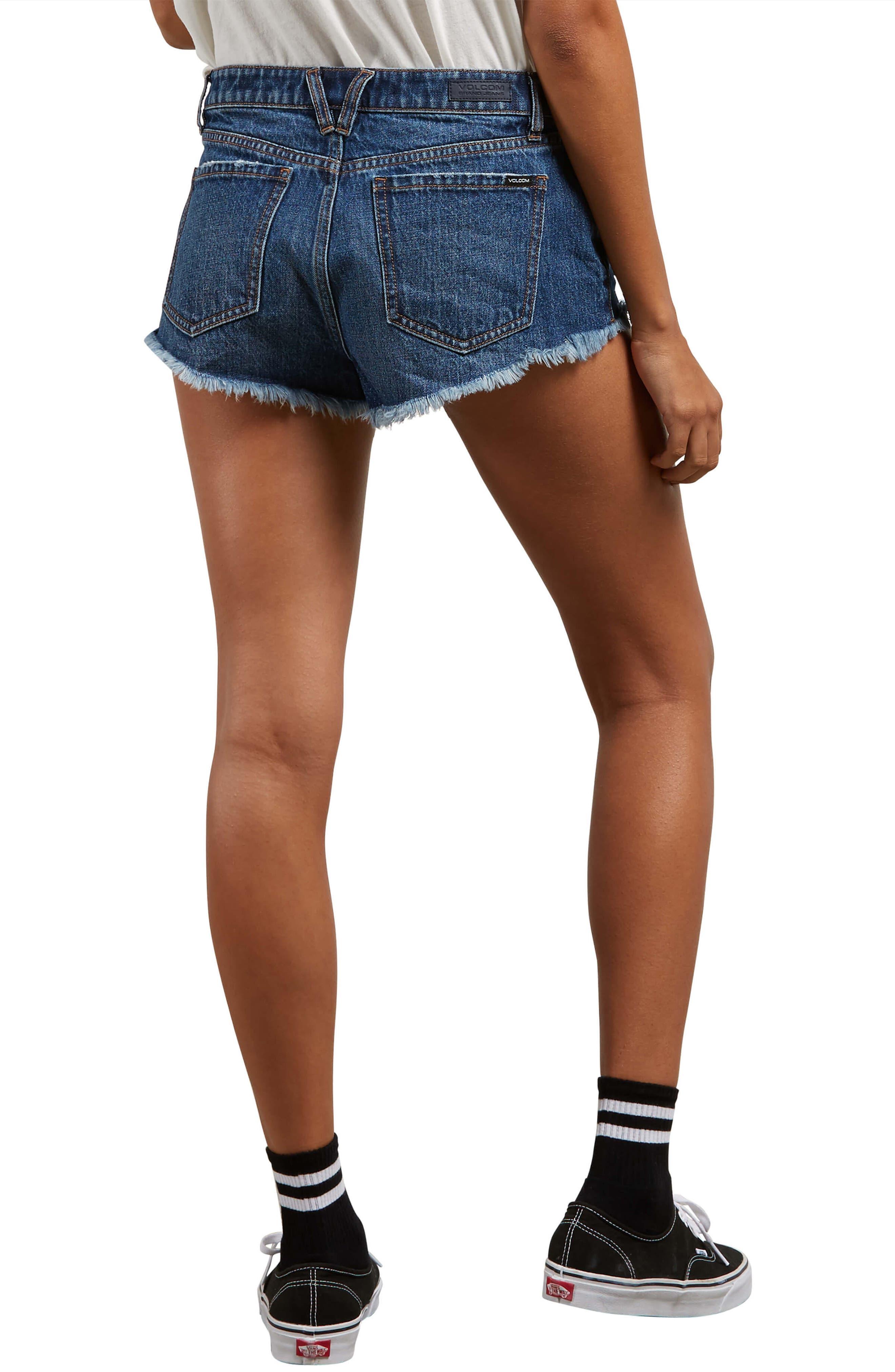 Stoney Cutoff Denim Shorts,                             Alternate thumbnail 2, color,                             409