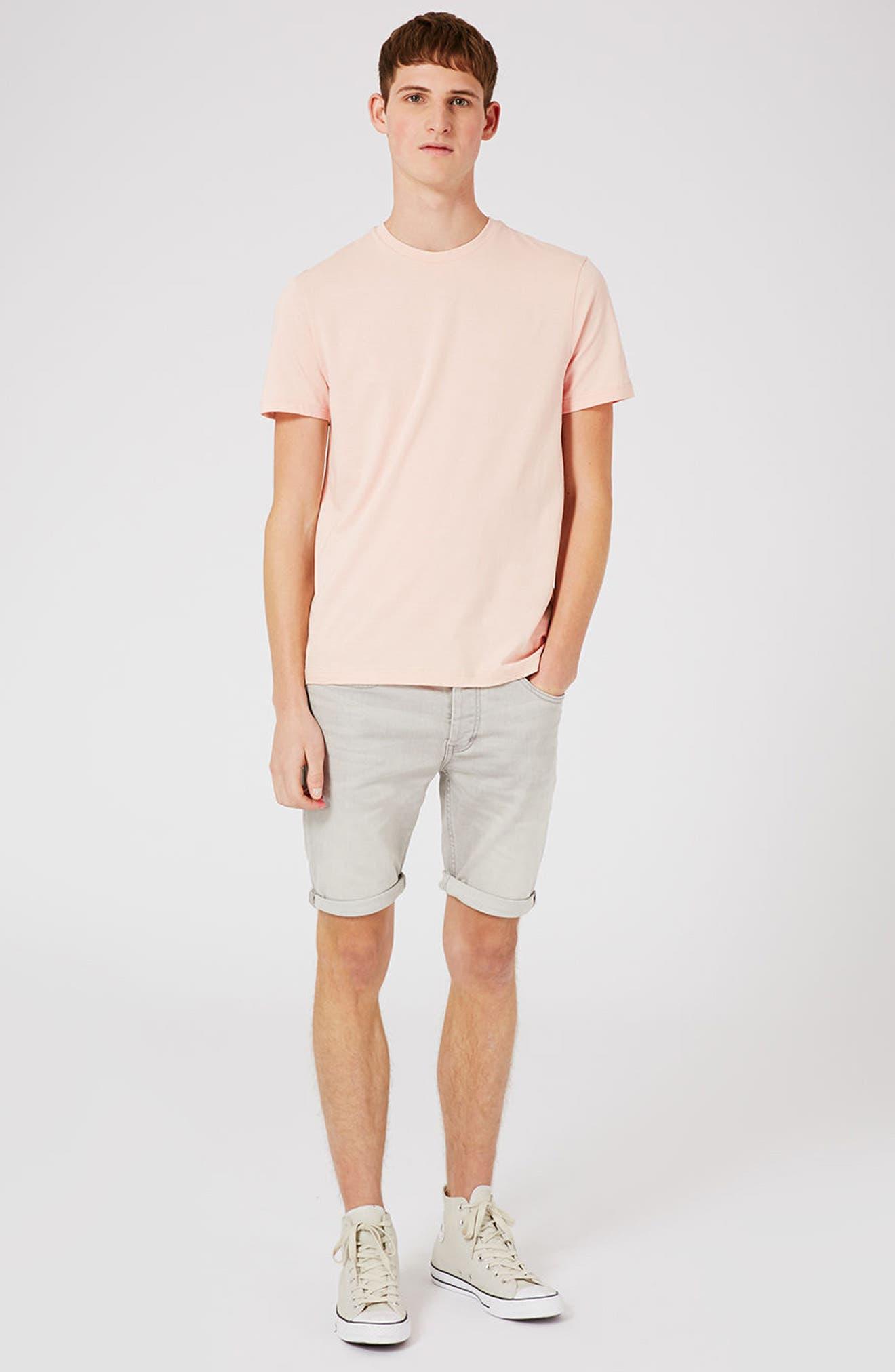 Slim Fit Crewneck T-Shirt,                             Alternate thumbnail 308, color,