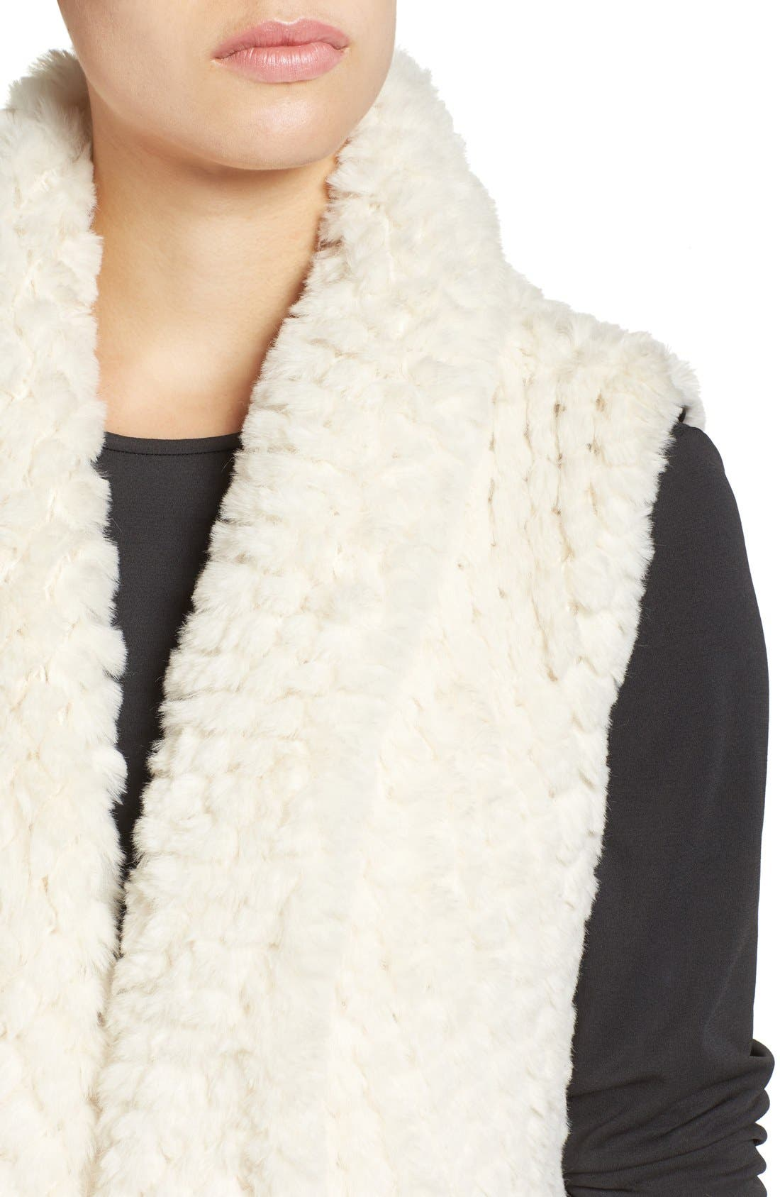 Faux Fur Vest,                             Alternate thumbnail 12, color,