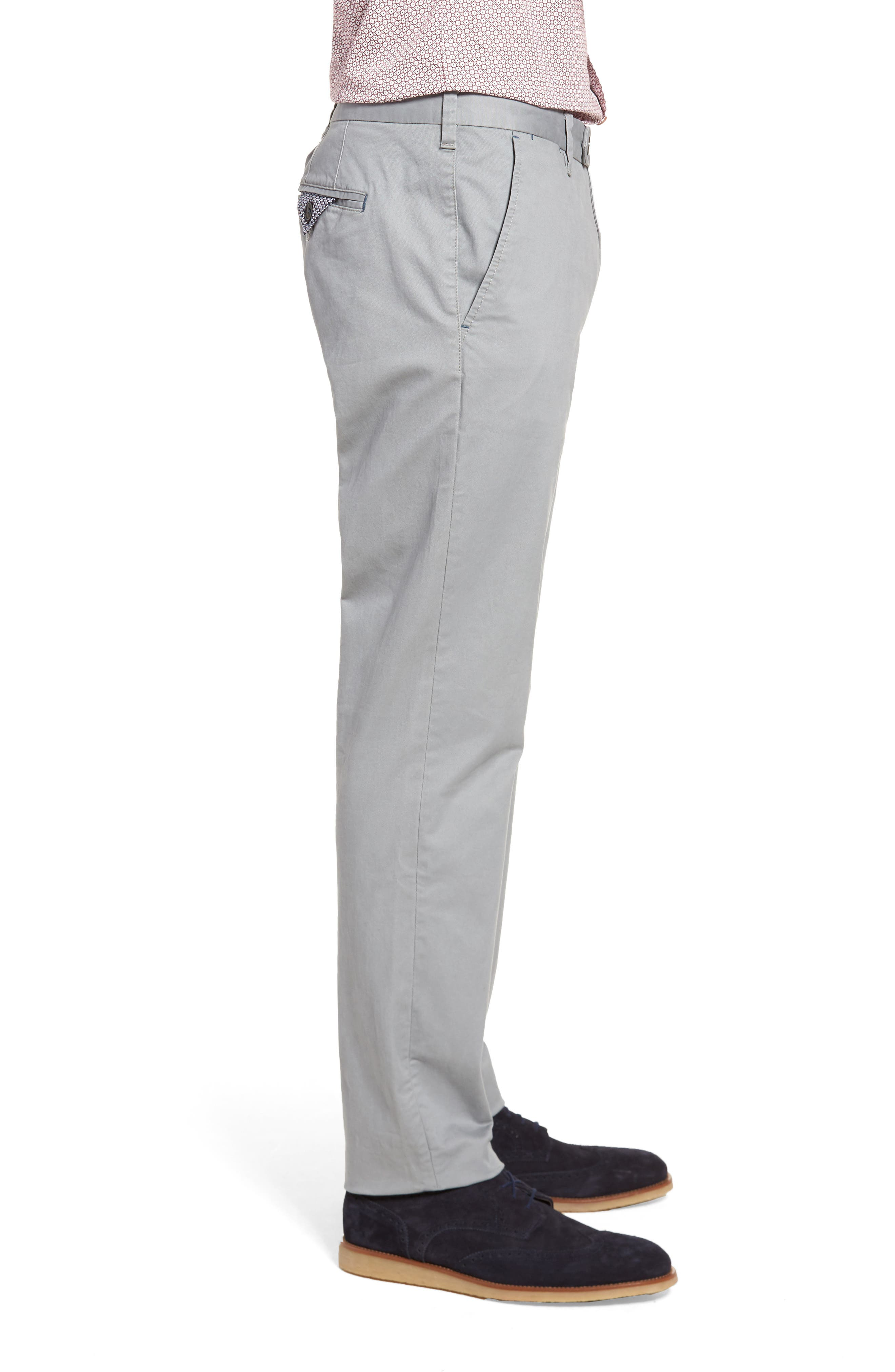 Procor Slim Fit Chino Pants,                             Alternate thumbnail 3, color,                             050