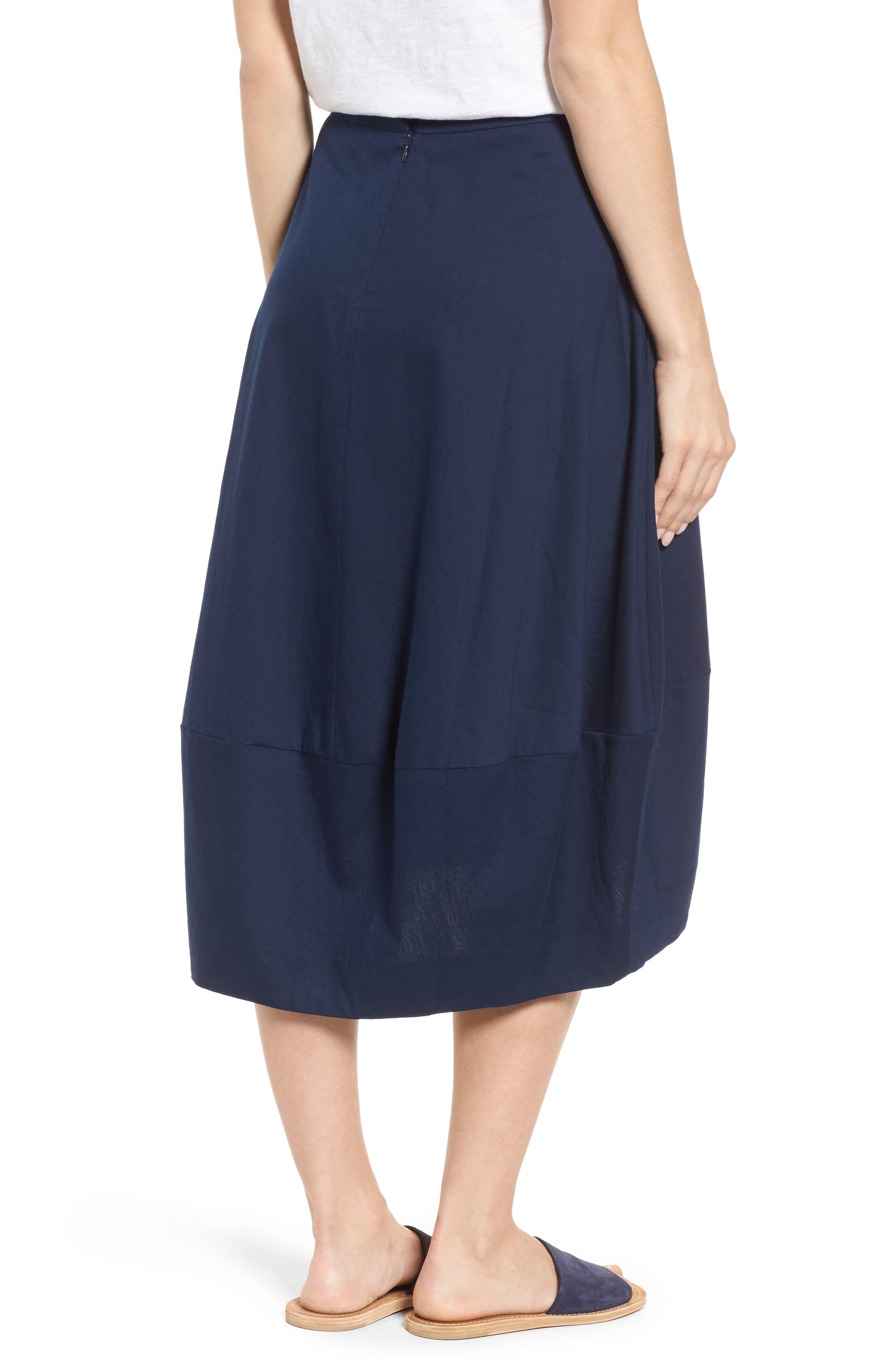 Organic Cotton Lantern Skirt,                             Alternate thumbnail 8, color,