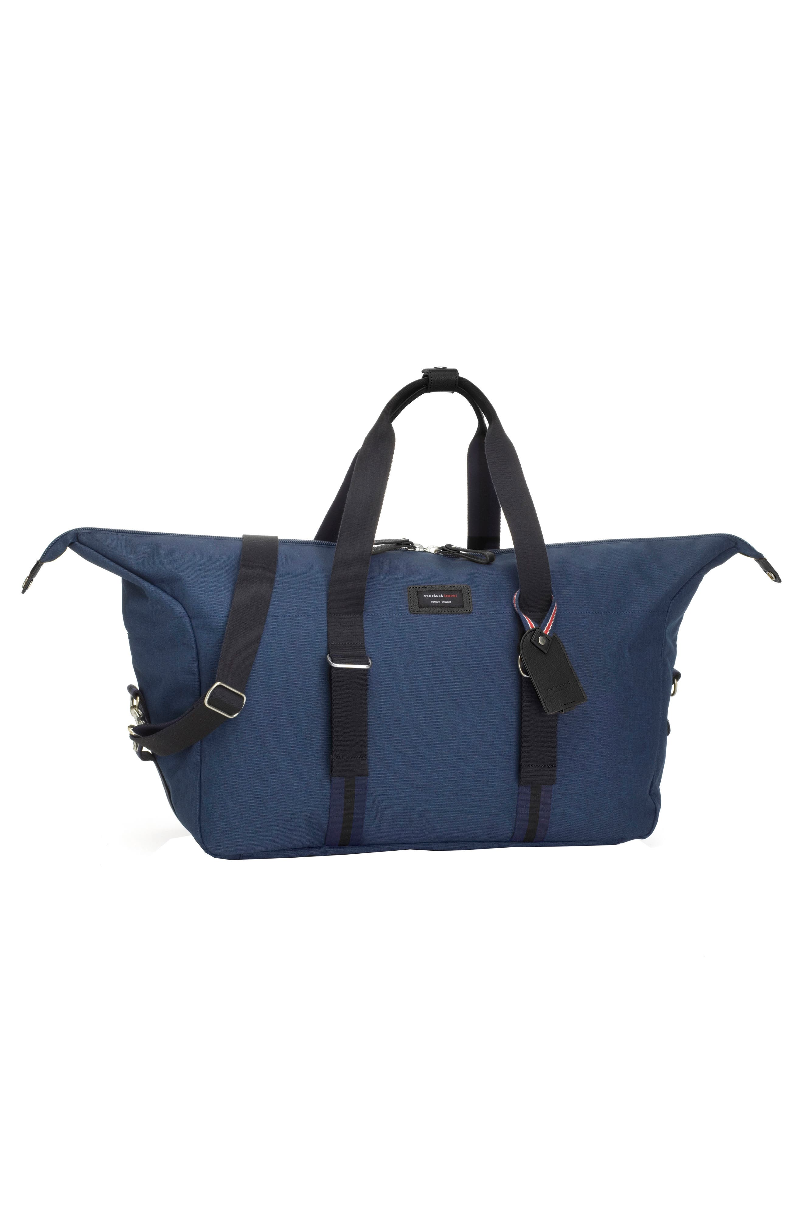 Travel Duffel with Hanging Organizer,                             Alternate thumbnail 3, color,                             NAVY