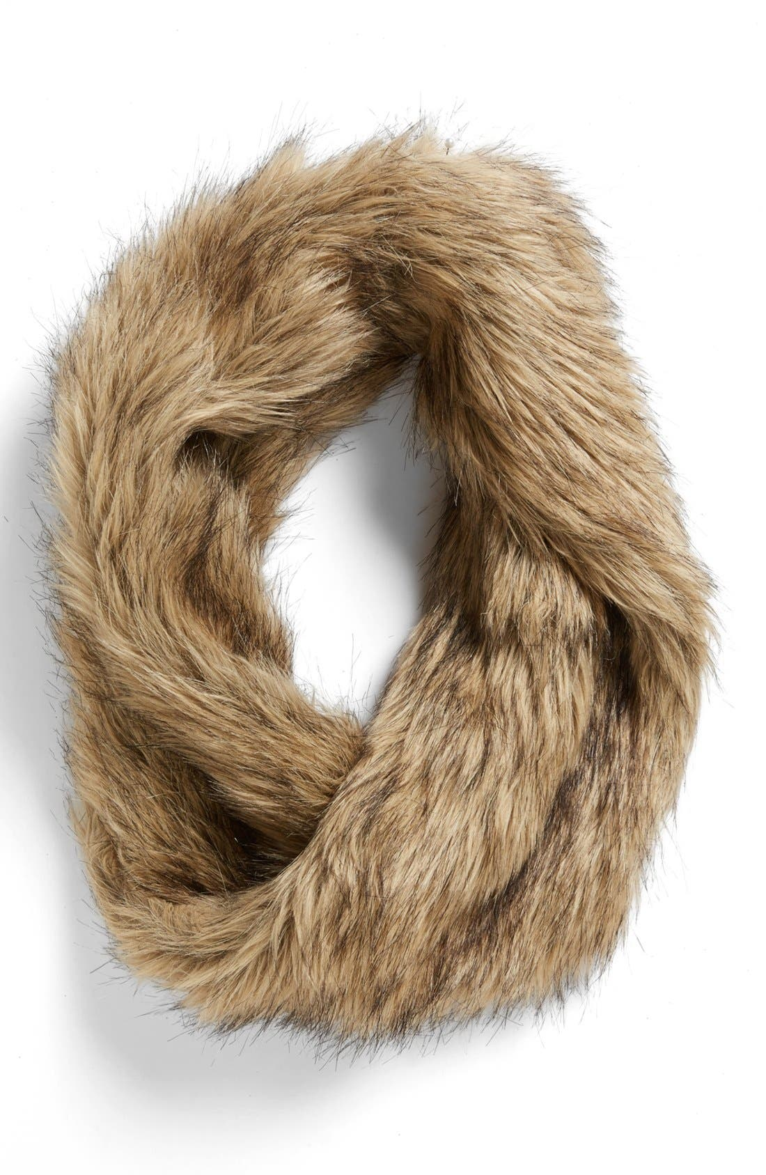 Faux Fur Infinity Scarf,                             Main thumbnail 2, color,