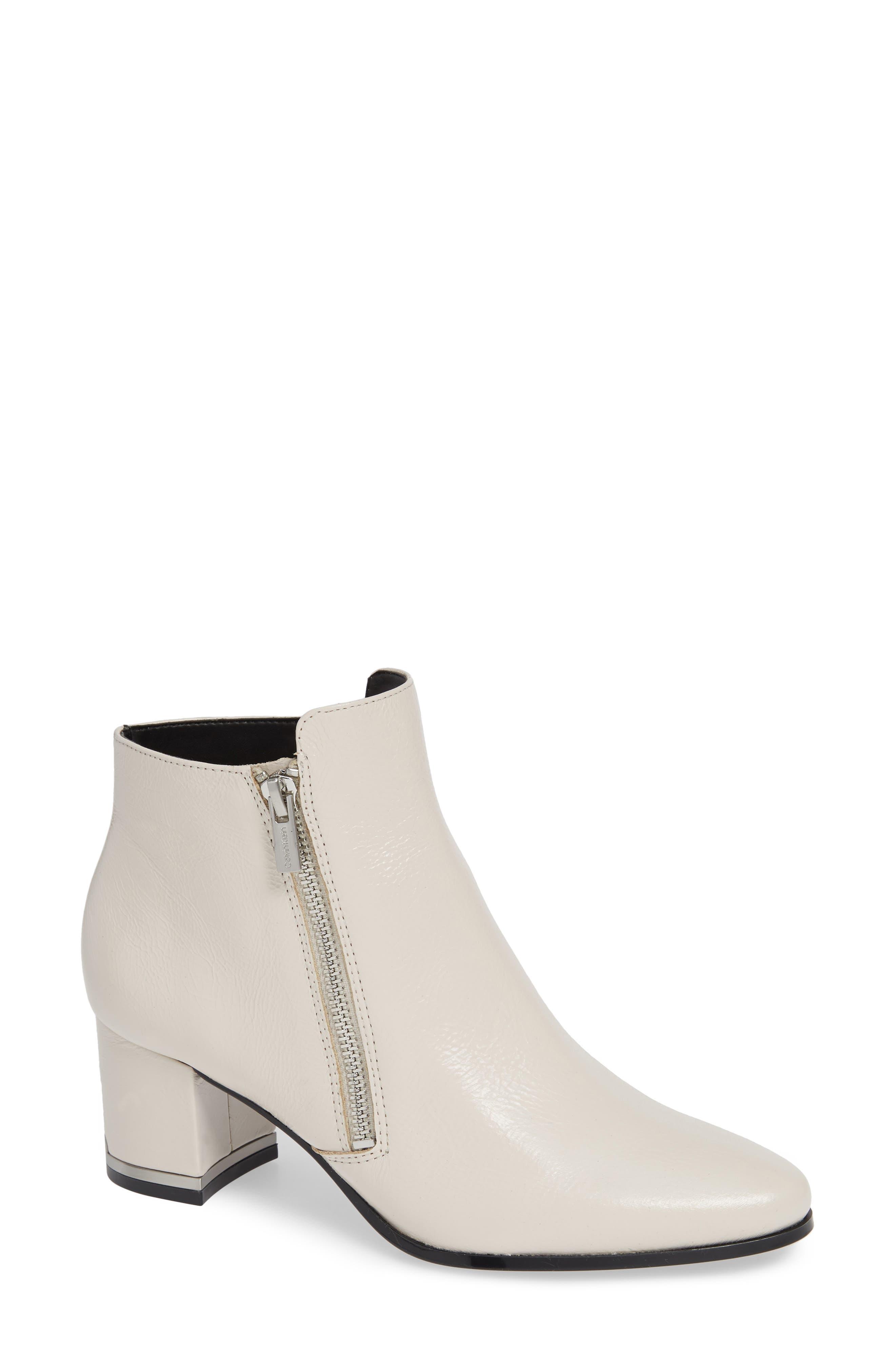 Calvin Klein Fara Bootie- White
