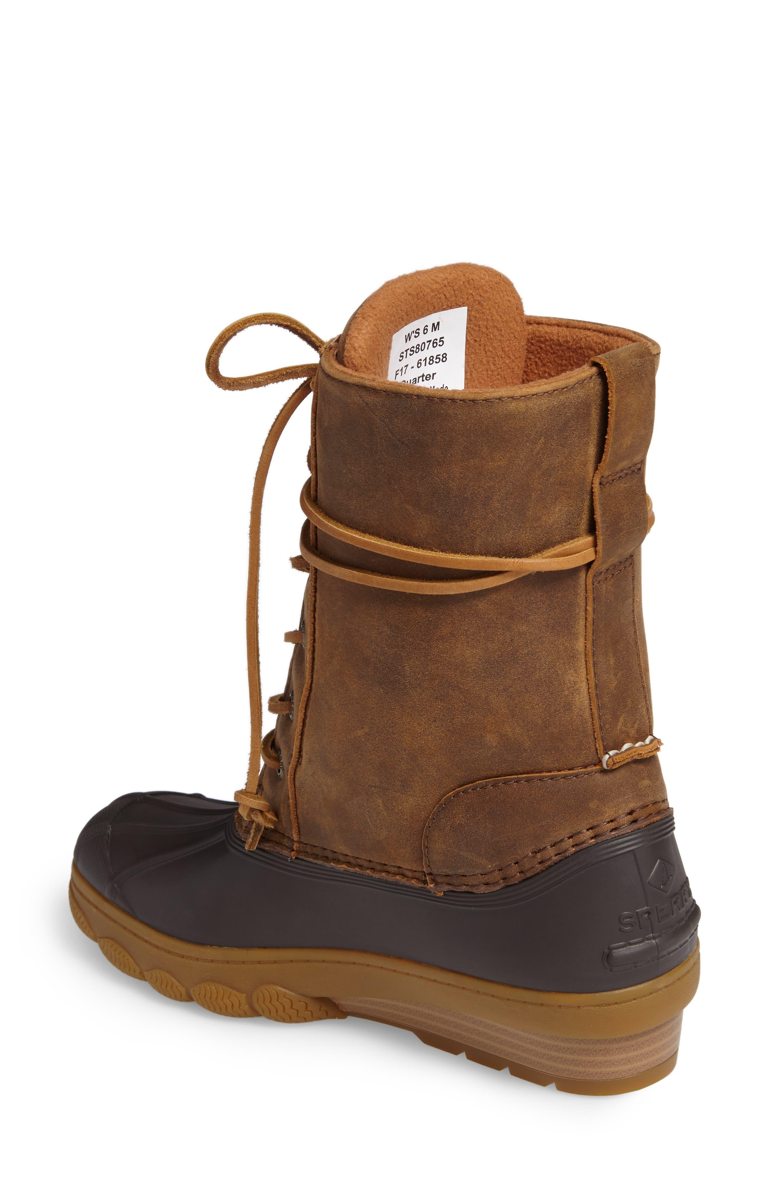 Saltwater Wedge Reeve Waterproof Boot,                             Alternate thumbnail 5, color,