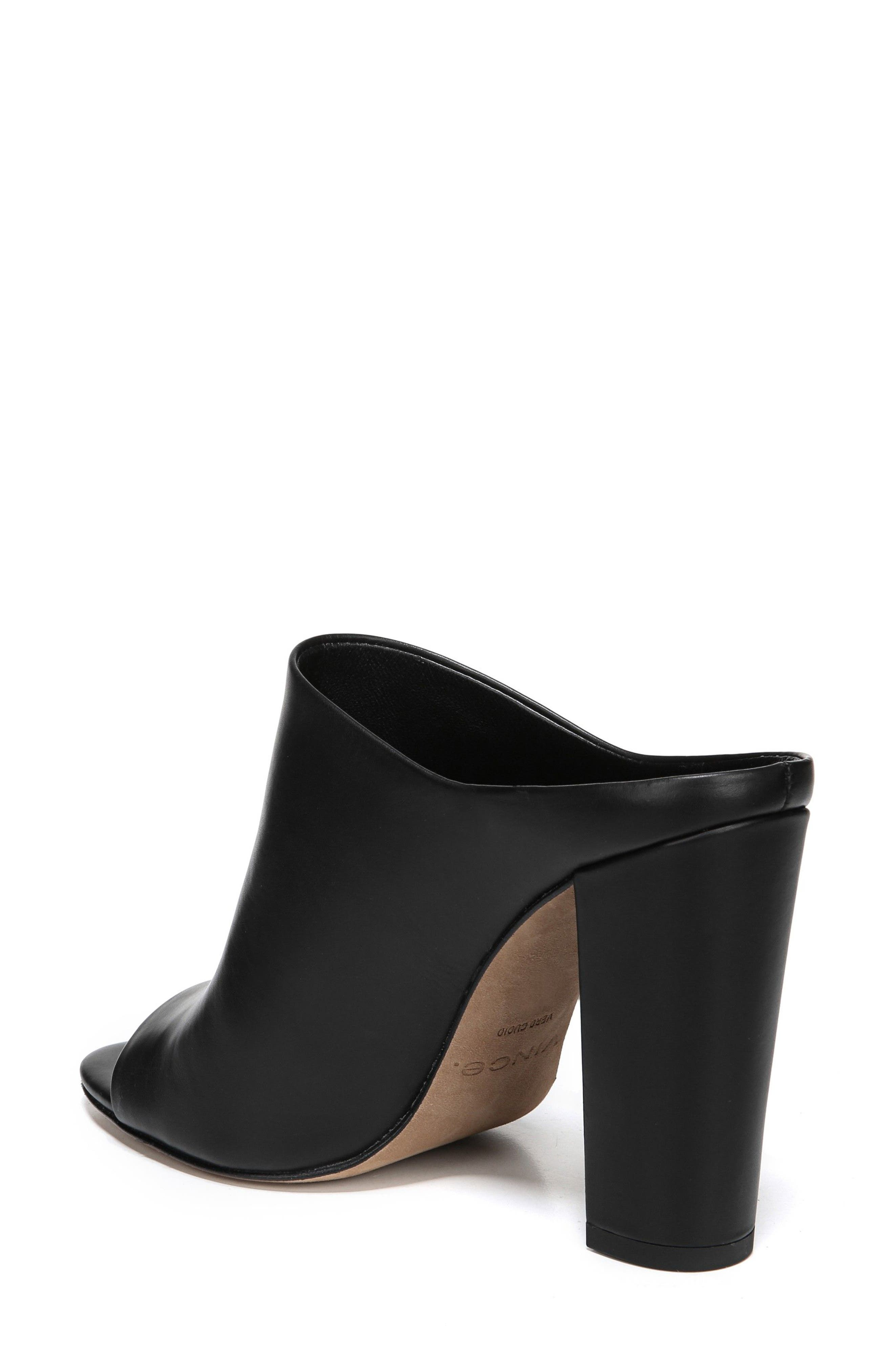 Alora Mule,                             Alternate thumbnail 2, color,                             BLACK