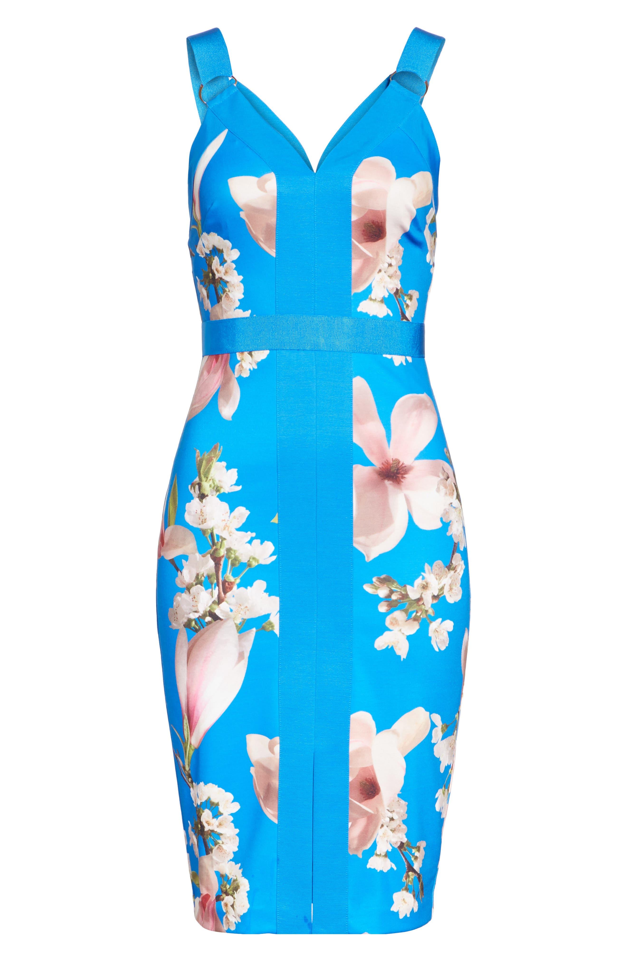 Harmony Body-Con Dress,                             Alternate thumbnail 6, color,                             430
