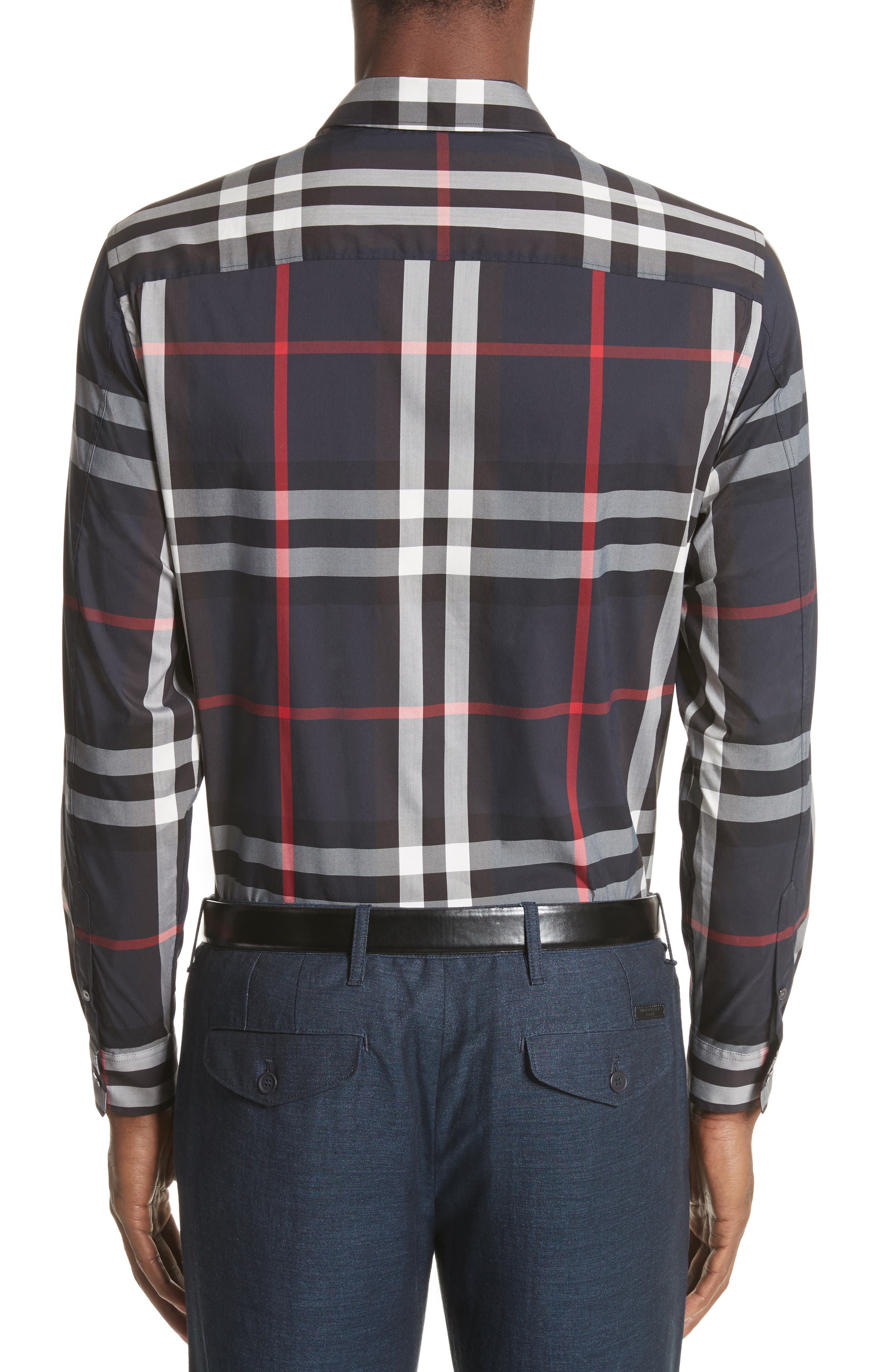 Nelson Check Sport Shirt,                             Alternate thumbnail 65, color,
