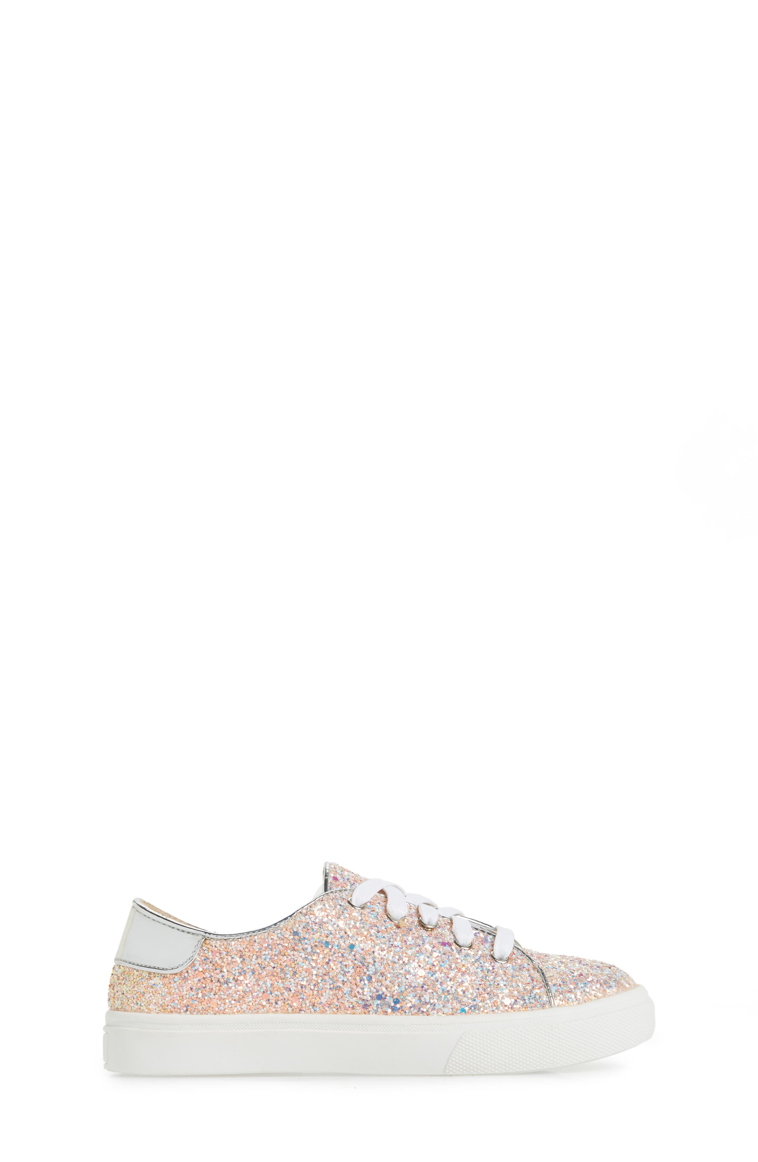 YOSI SAMRA,                             Miss Bowery Glitter Sneaker,                             Alternate thumbnail 3, color,                             182