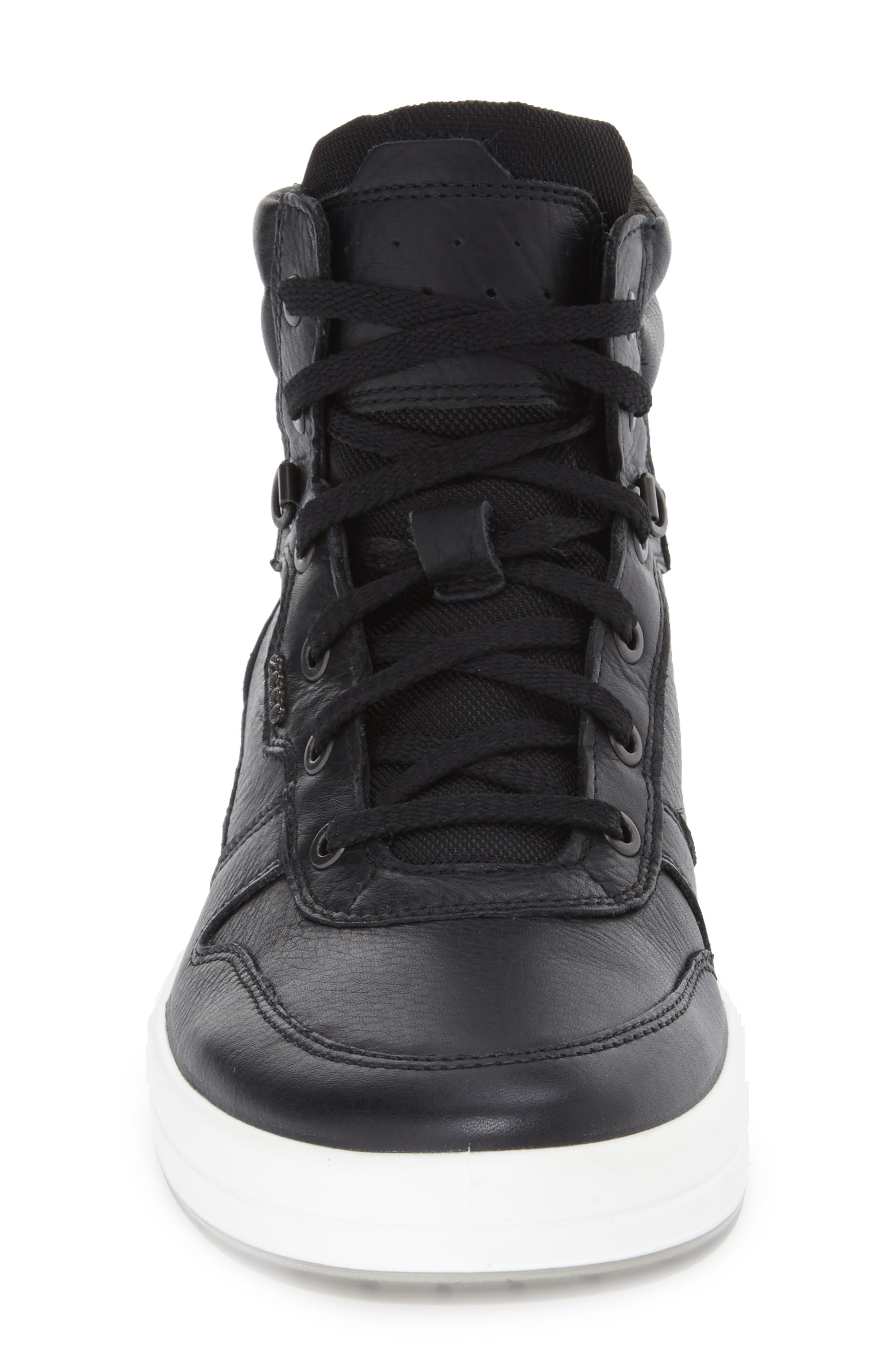 'Jack' High Top Sneaker,                             Alternate thumbnail 5, color,                             001