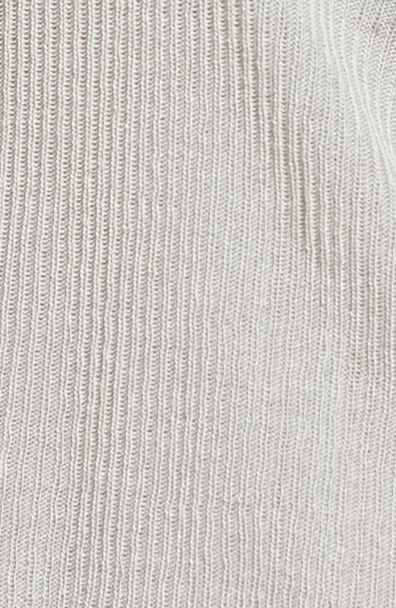 Ruffle Sleeve Sweater,                             Alternate thumbnail 5, color,                             034