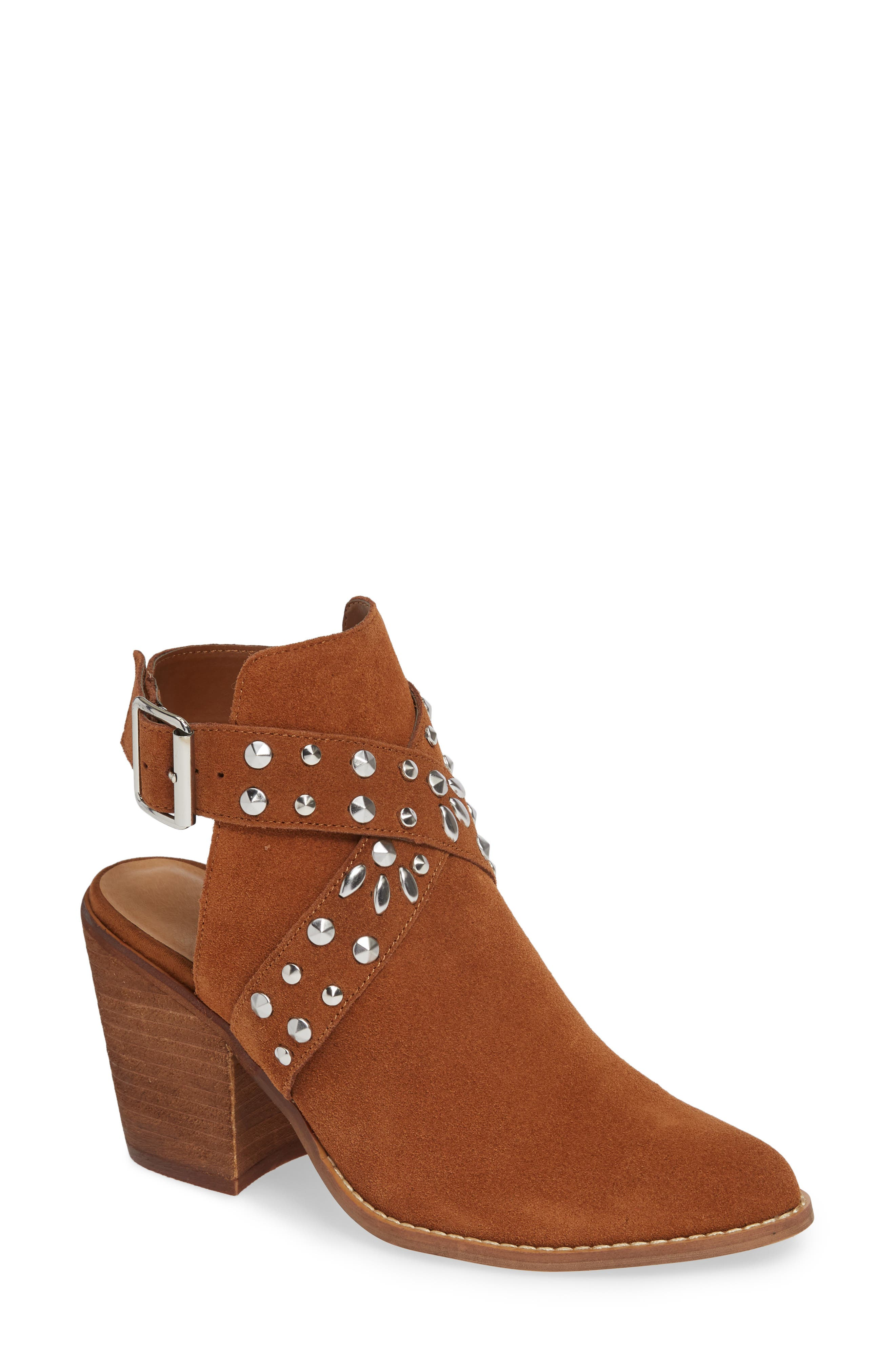 Chinese Laundry Small Town Studded Bootie, Brown