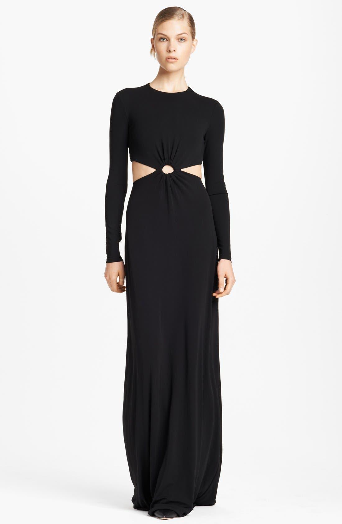 Michael Kors Cutout Jersey Gown