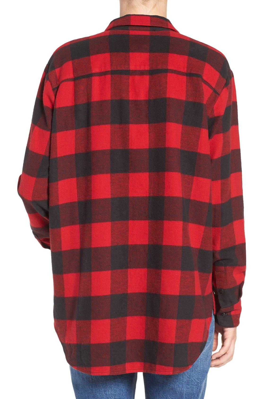 Ex-Boyfriend Oversize Boyfriend Shirt,                             Alternate thumbnail 8, color,                             600