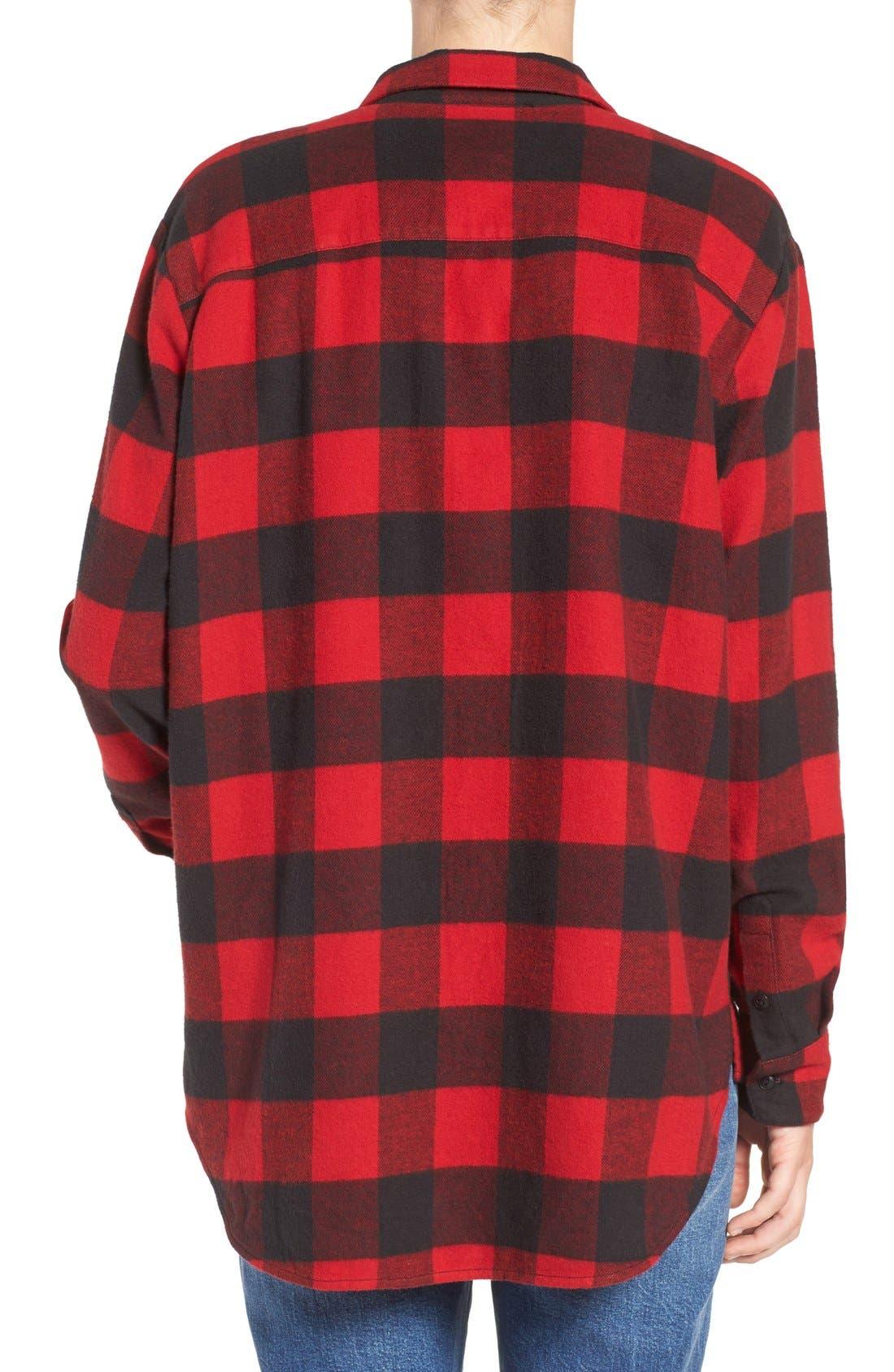 Ex-Boyfriend Oversize Boyfriend Shirt,                             Alternate thumbnail 8, color,