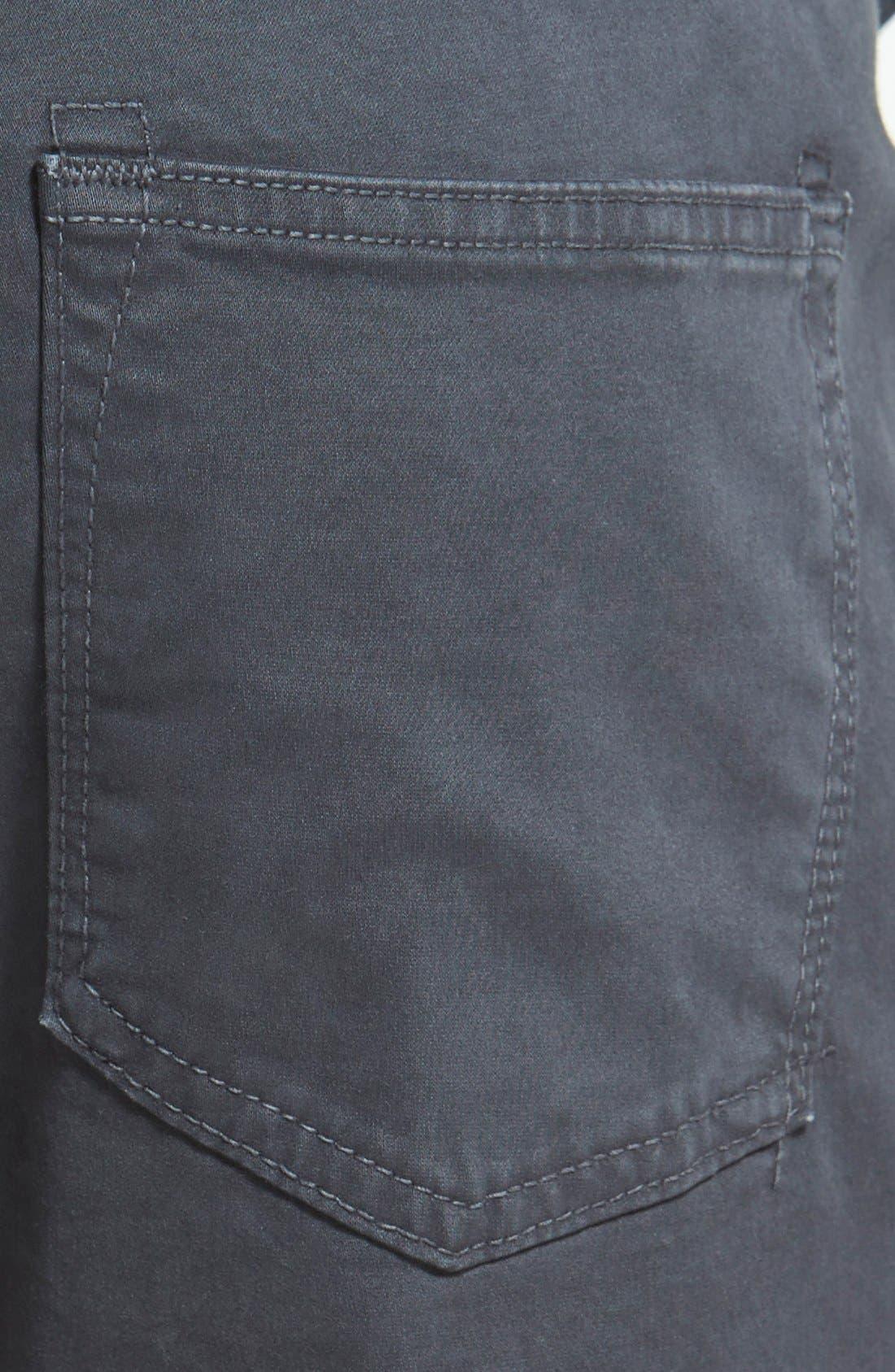 'Kane' Slim Fit Cotton Twill Pants,                             Alternate thumbnail 74, color,
