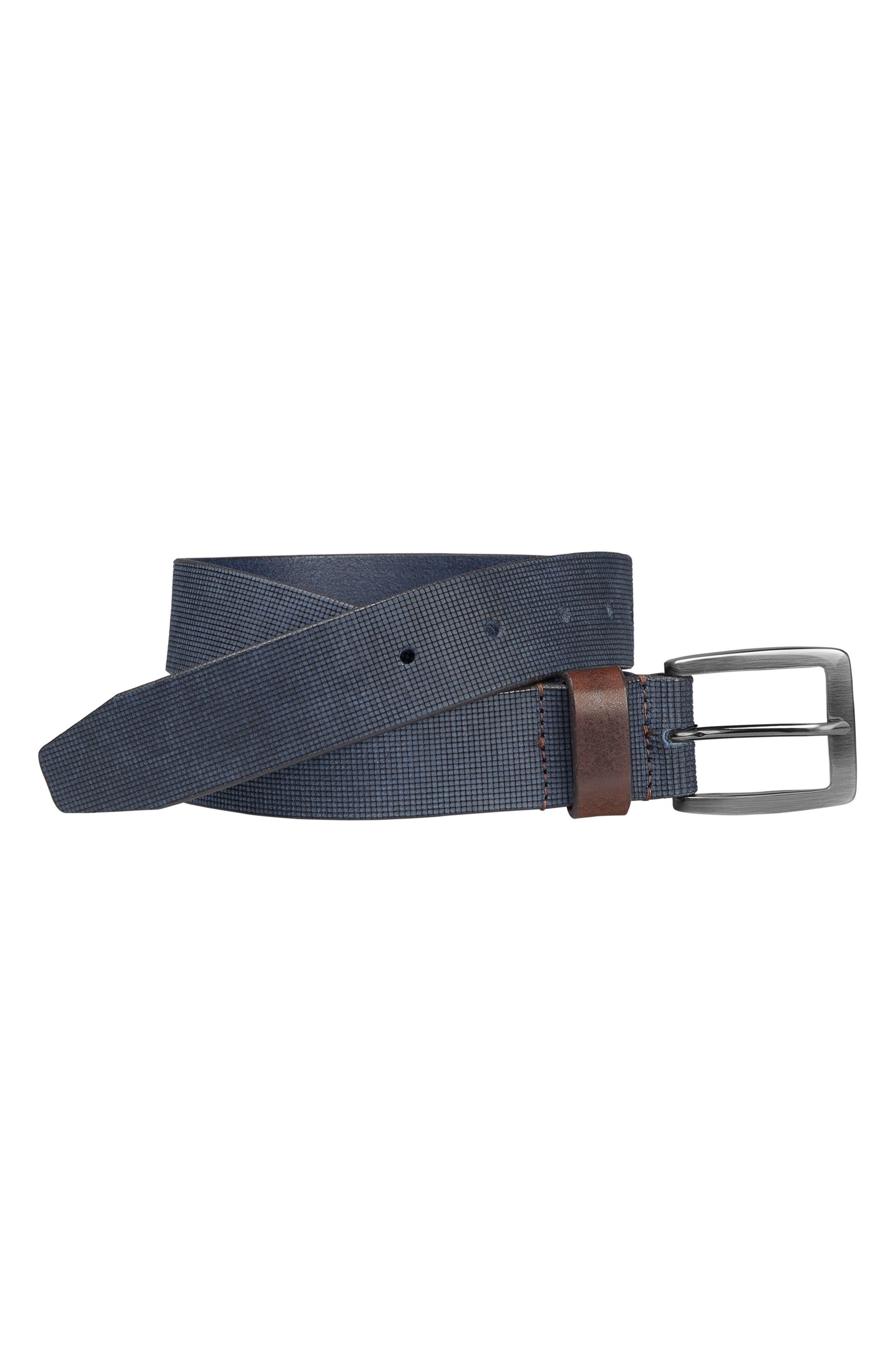Leather Belt,                             Main thumbnail 2, color,