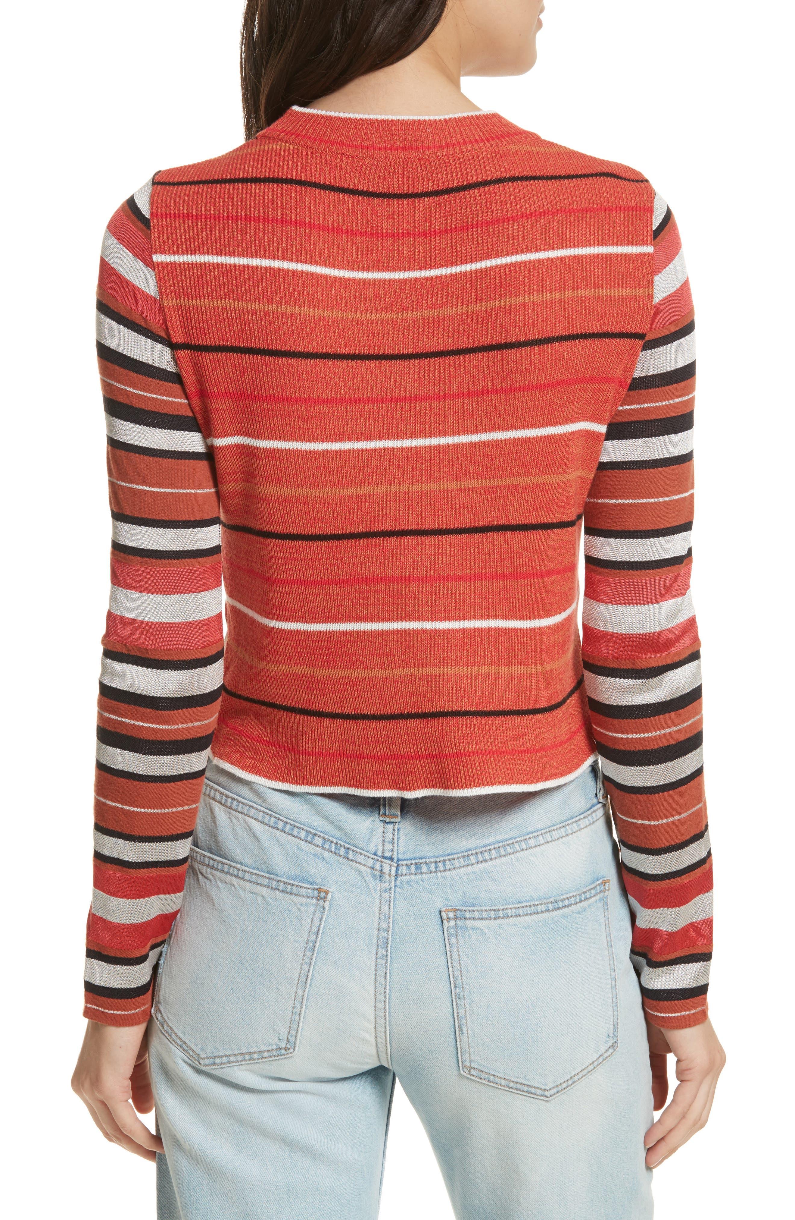 New Age Crewneck Sweater,                             Alternate thumbnail 4, color,