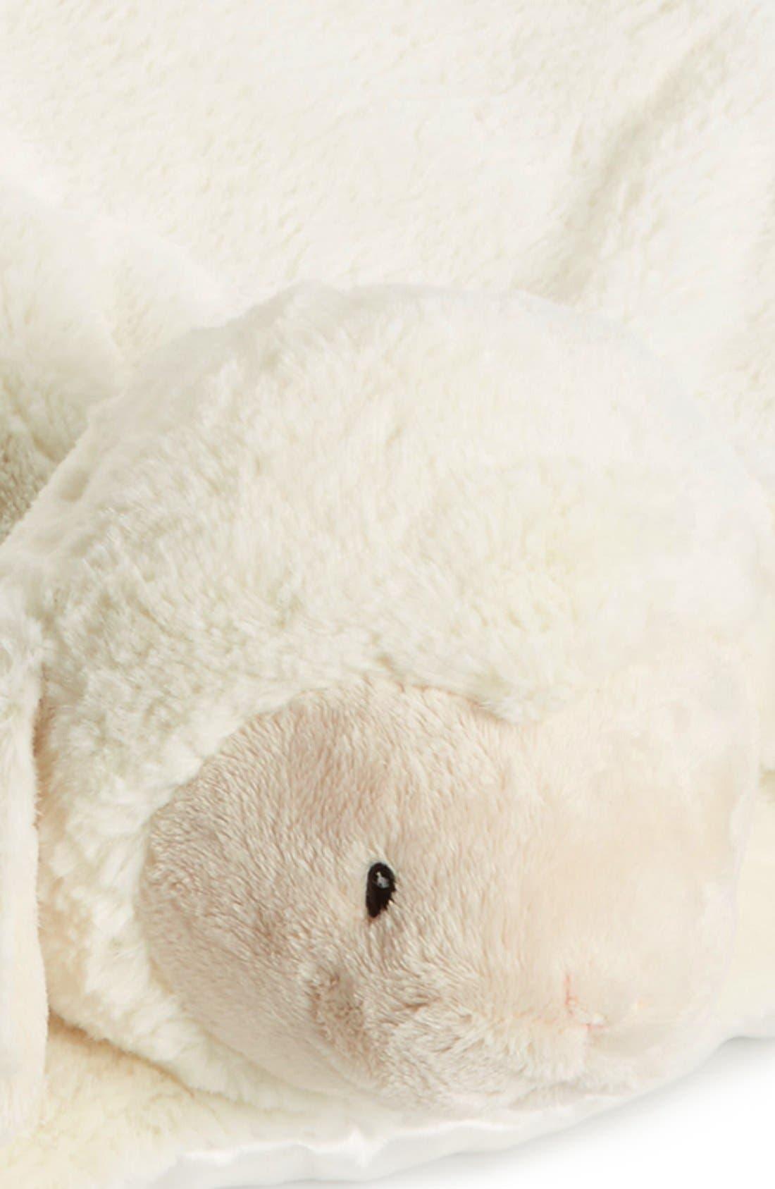 'Comfy Cozy - Lopsy Lamb' Blanket,                             Alternate thumbnail 2, color,                             NEW LAMB