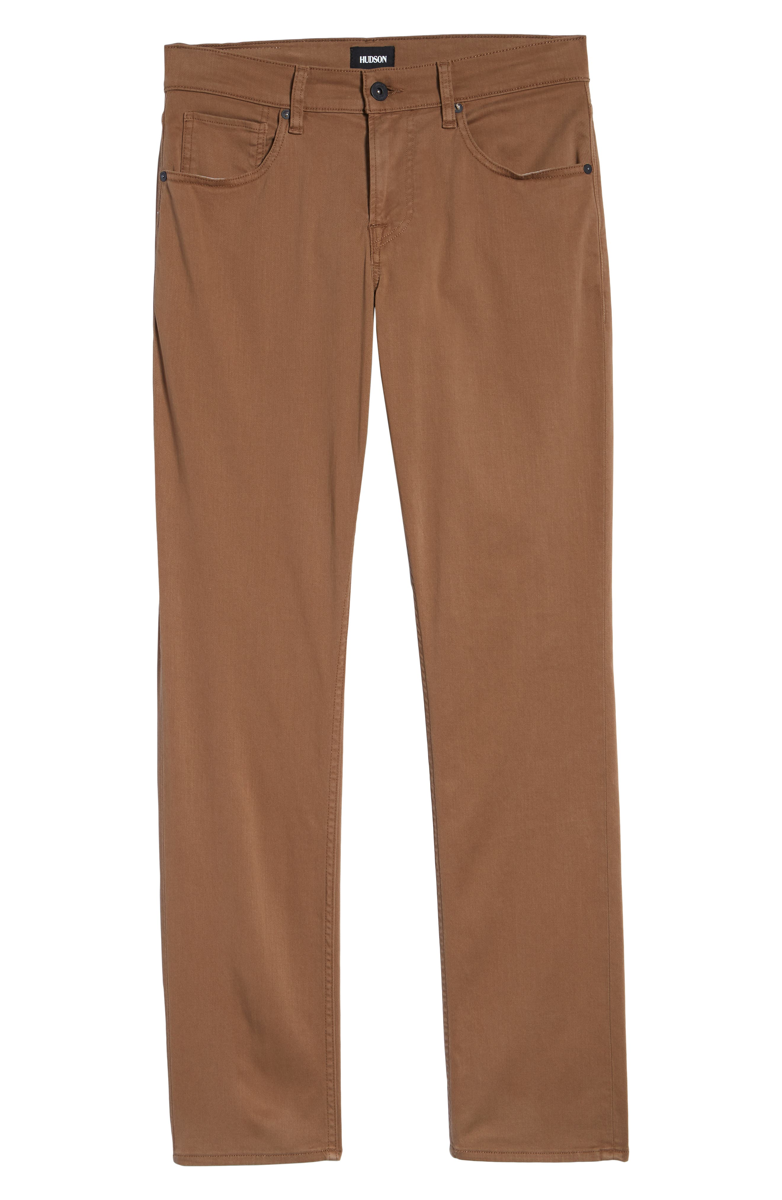 Hudson Blake Slim Fit Jeans,                             Alternate thumbnail 6, color,                             SIENNA
