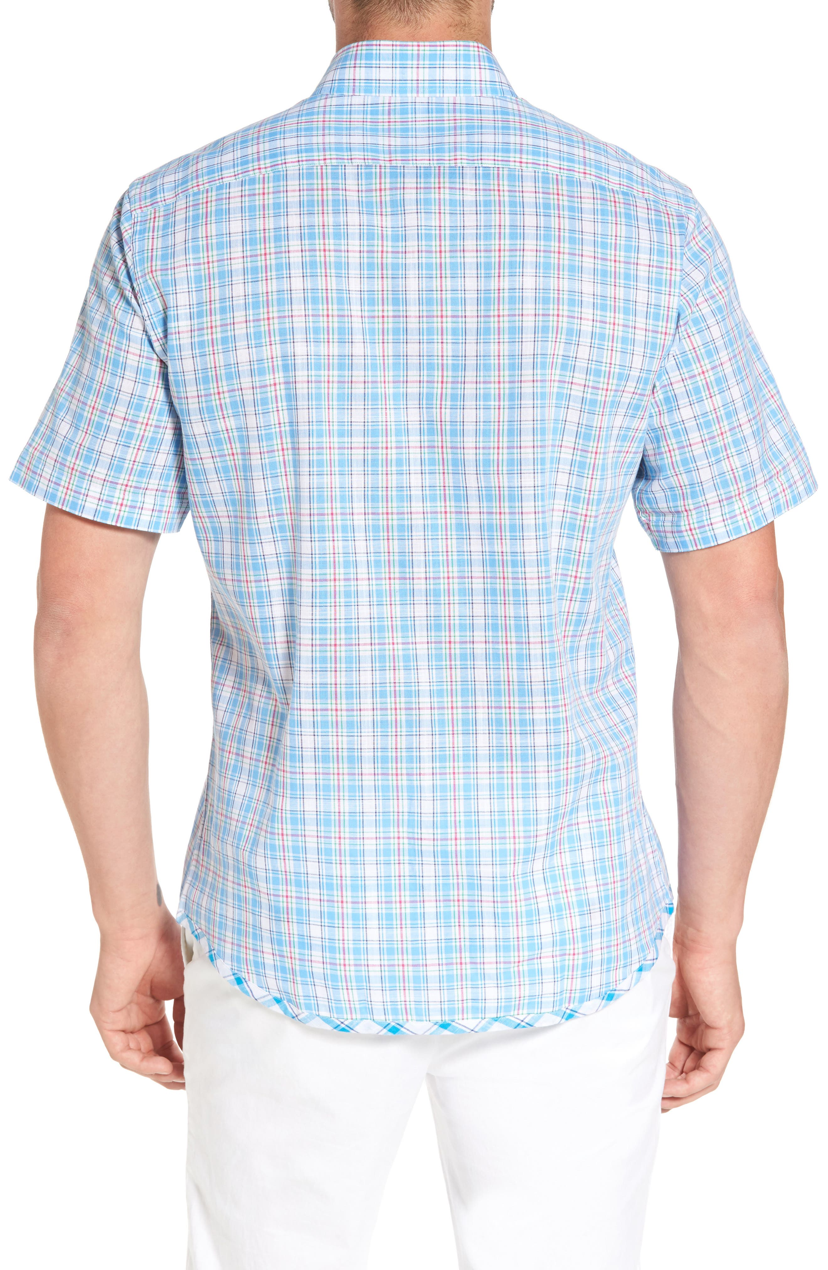 Nectarine Sport Shirt,                             Alternate thumbnail 2, color,