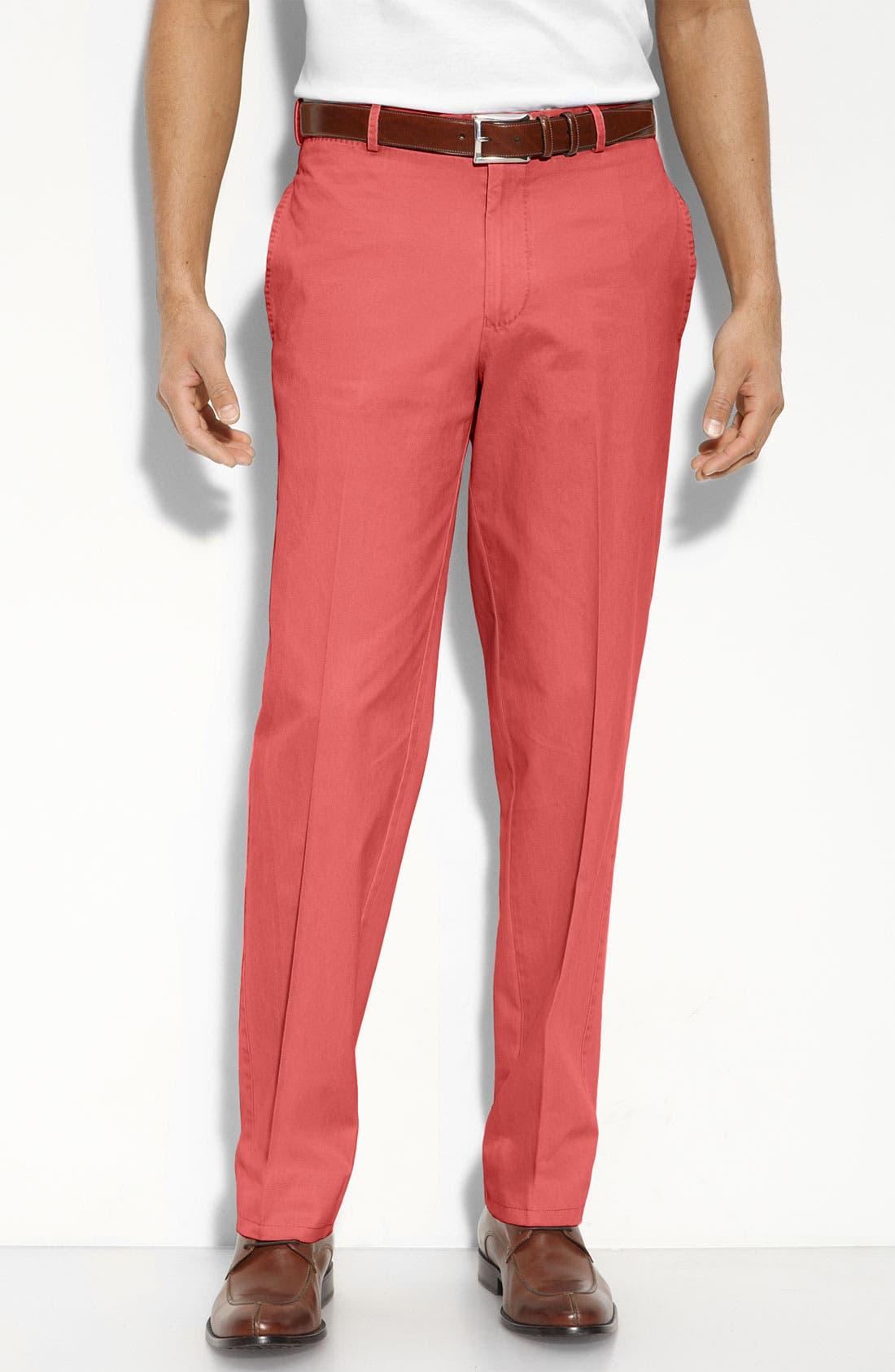 Garment Washed Twill Pants,                             Main thumbnail 14, color,