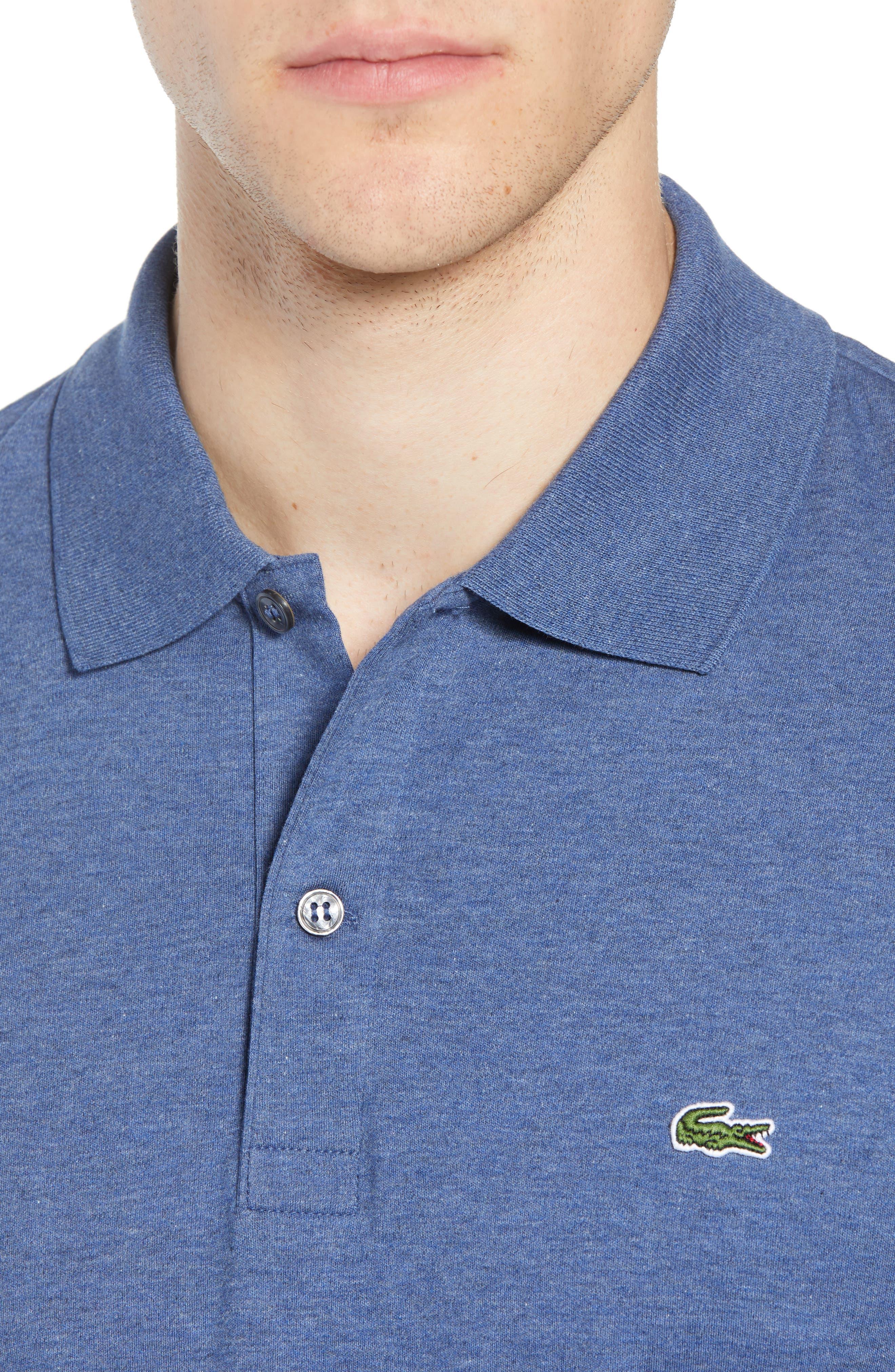 Jersey Interlock Regular Fit Polo,                             Alternate thumbnail 4, color,                             485