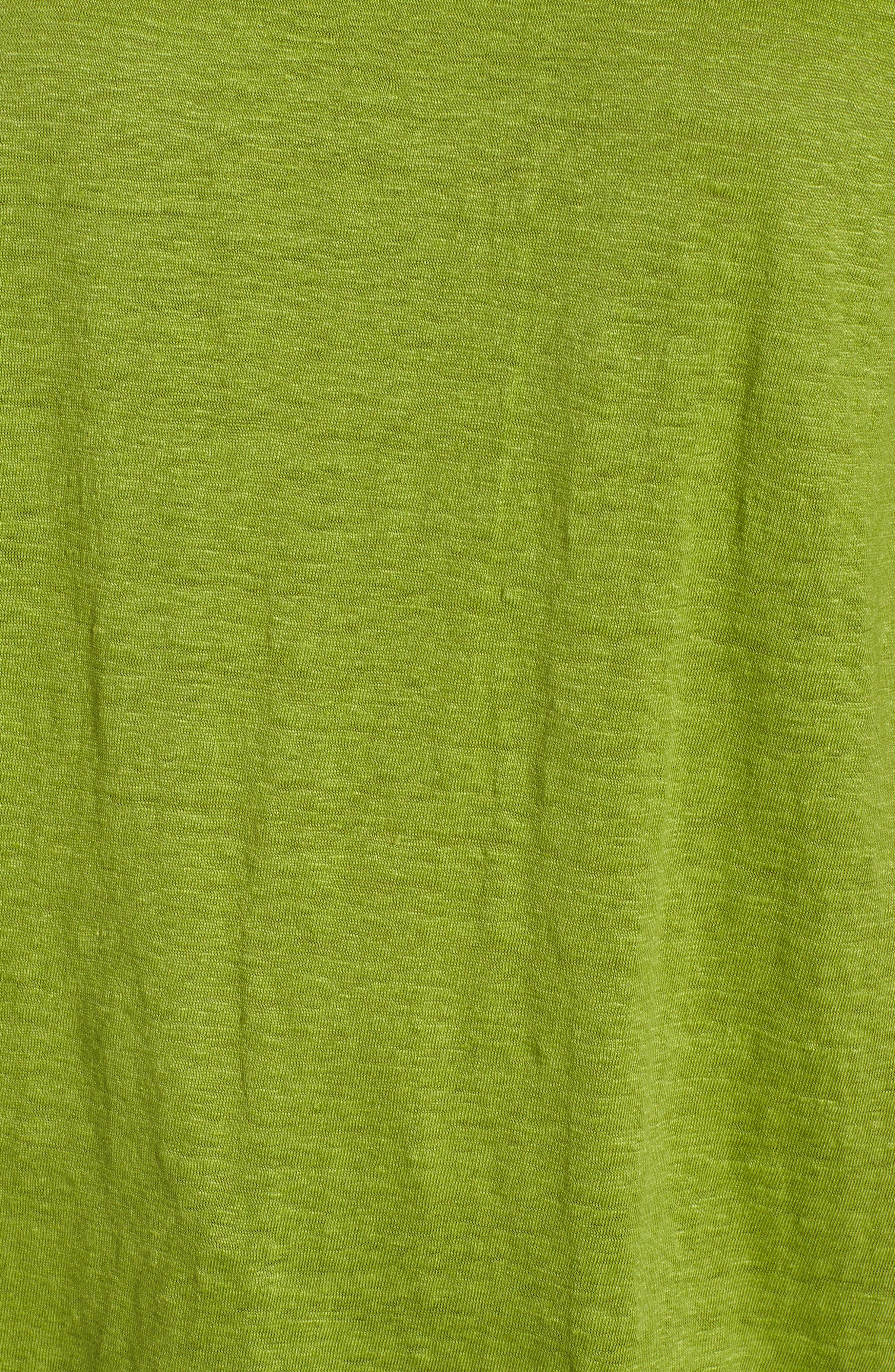 Slouchy Organic Linen Top,                             Alternate thumbnail 28, color,