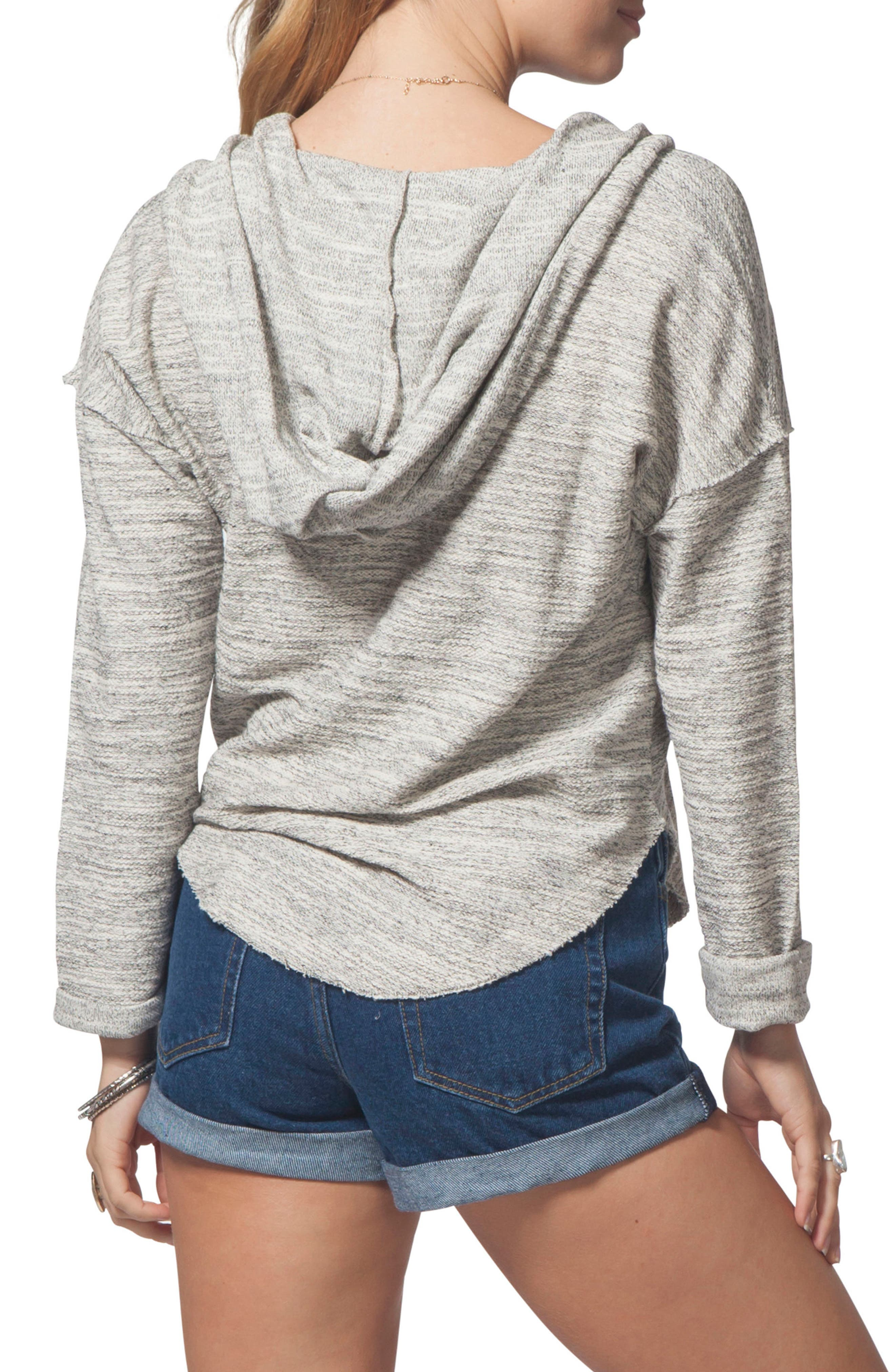 RIP CURL,                             Drift Pullover Hoodie,                             Alternate thumbnail 2, color,                             001