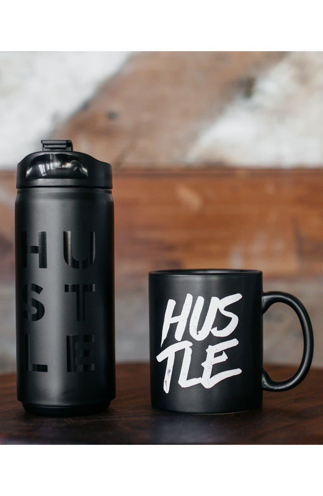 'Hustle' Mug,                             Alternate thumbnail 4, color,                             001