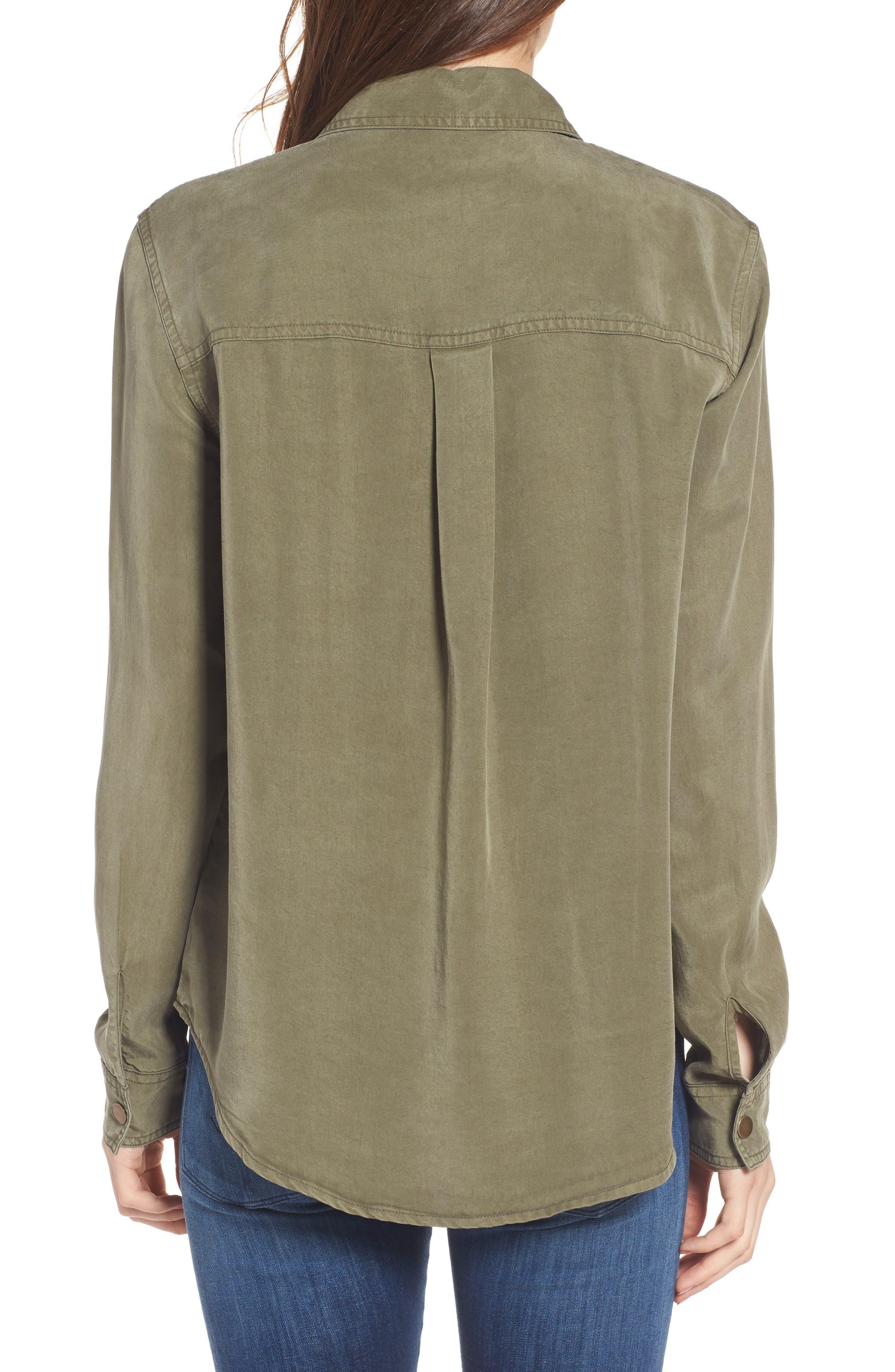 Military Shirt,                             Alternate thumbnail 2, color,                             300