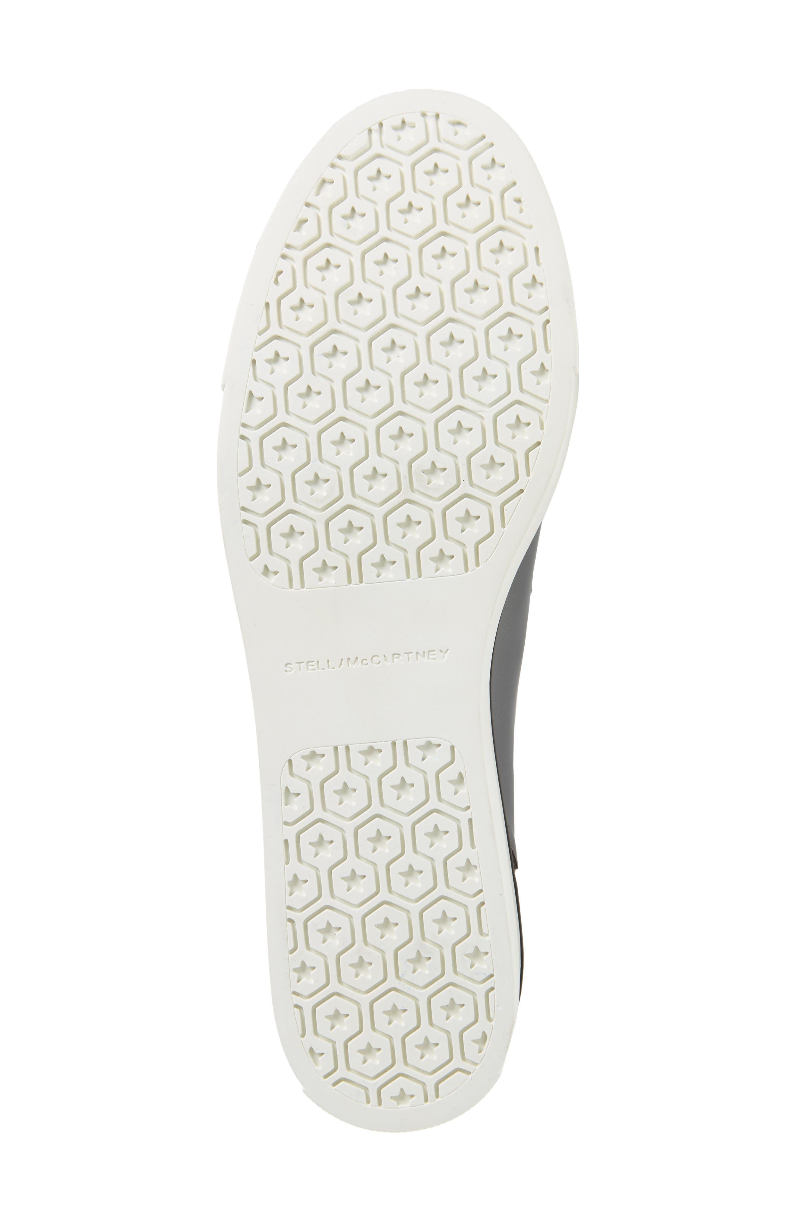 Binx Stars Platform Sneaker,                             Alternate thumbnail 6, color,                             ZINC