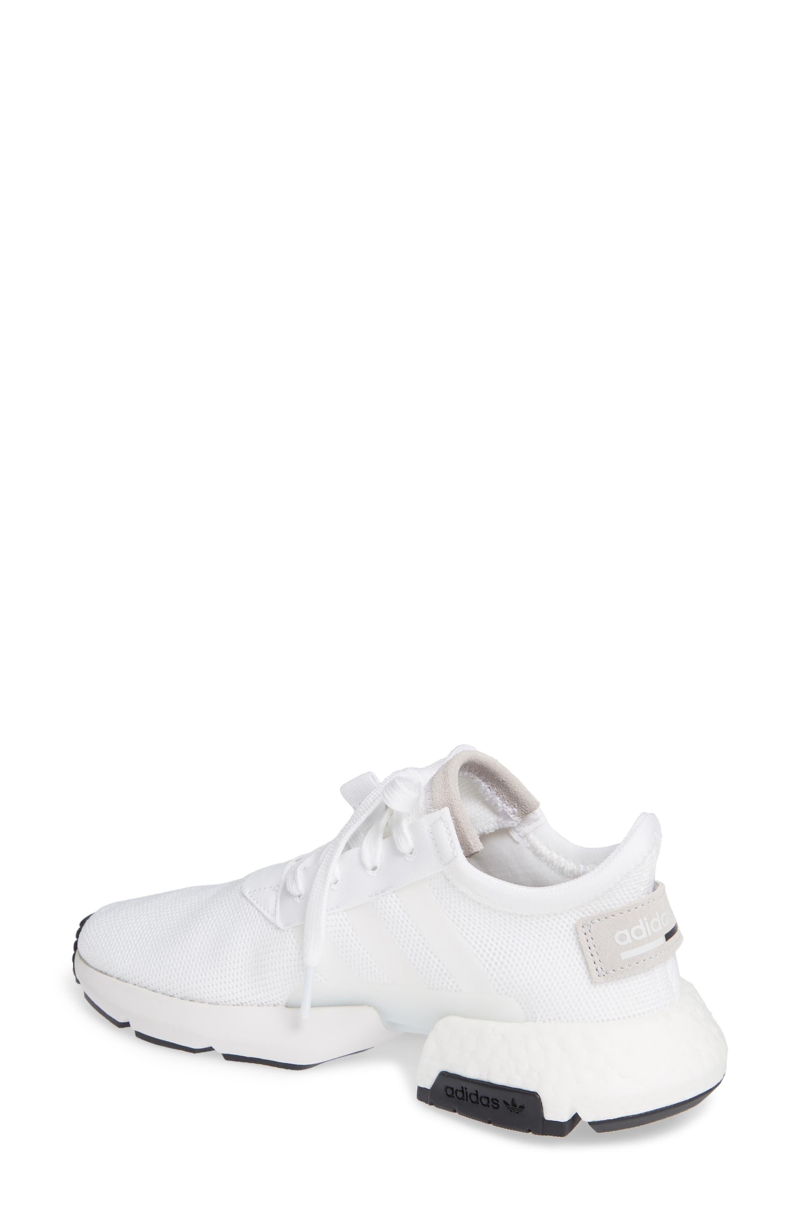 Pod S3.1 Sneaker,                             Alternate thumbnail 2, color,                             WHITE/ WHITE/ CORE BLACK