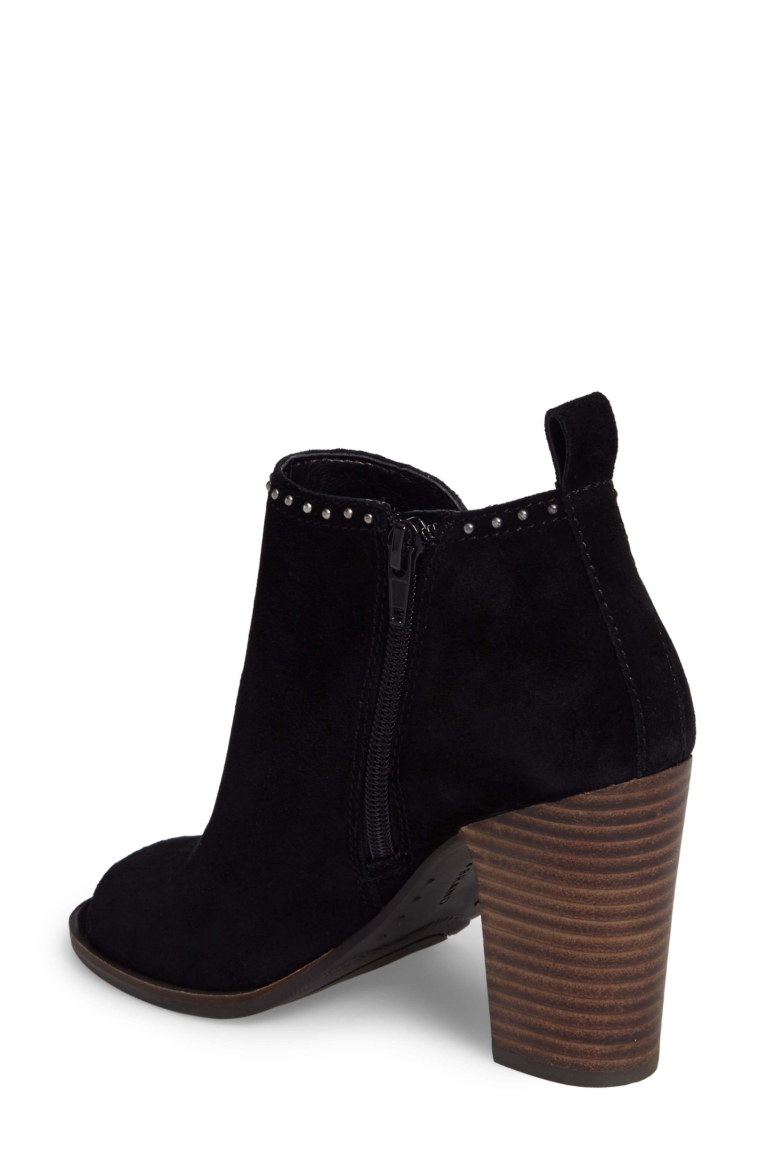 Lotisha Studded Open Toe Bootie,                             Alternate thumbnail 5, color,