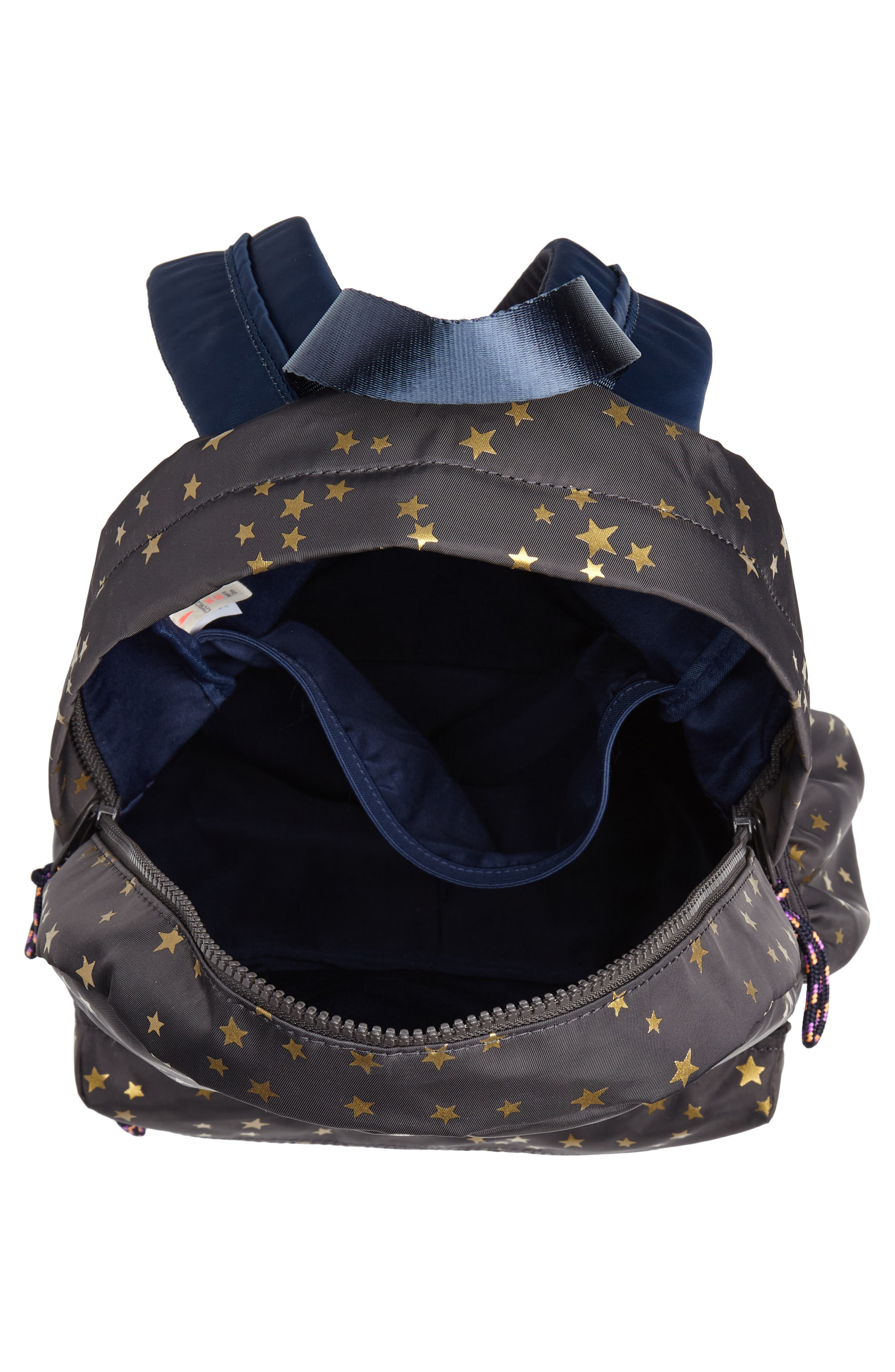 Gold Star Backpack,                             Alternate thumbnail 3, color,                             SOFT CHARCOAL