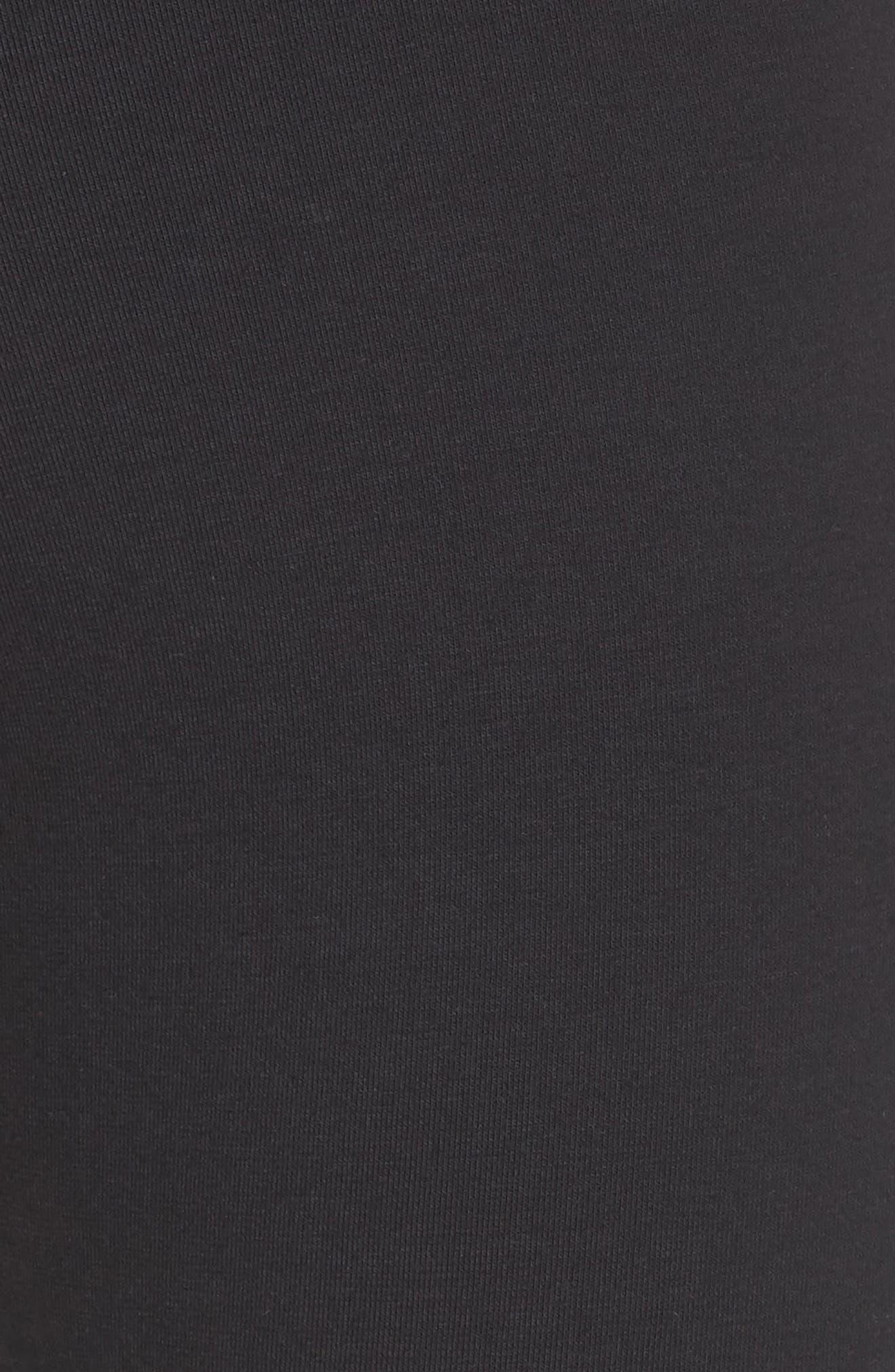 Starcrest Logo Leggings,                             Alternate thumbnail 5, color,                             BLACK