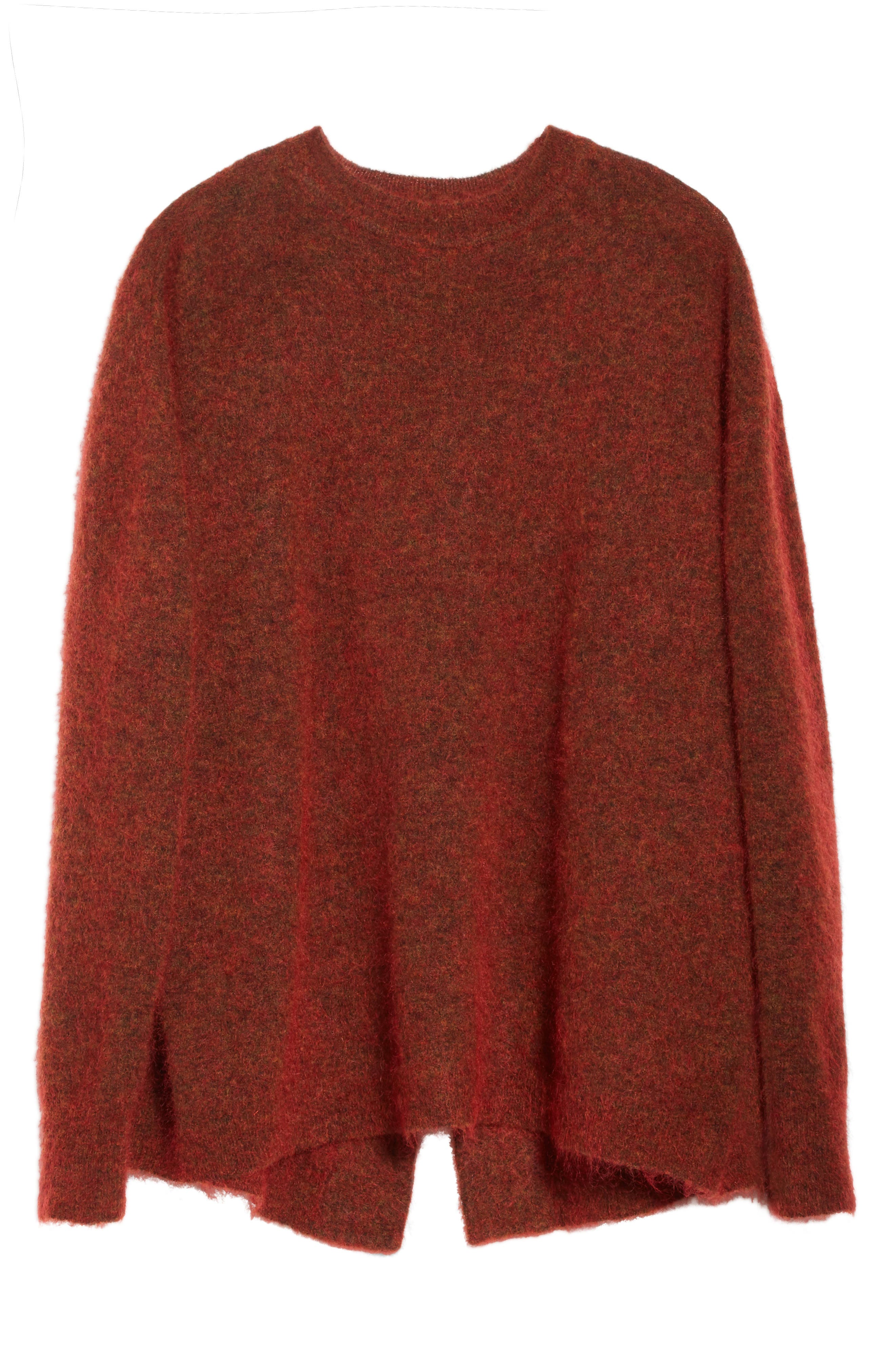 Tambourine Open Back Sweater,                             Alternate thumbnail 6, color,