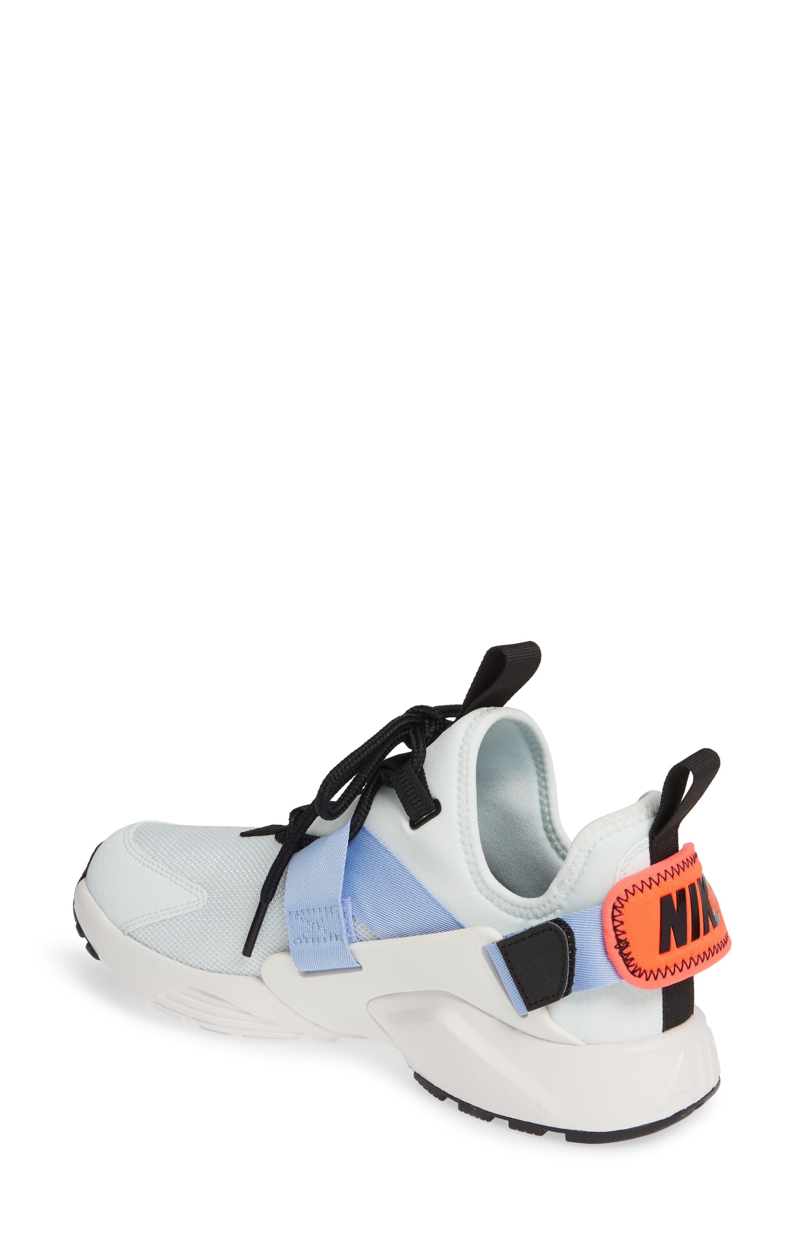 NIKE,                             Air Huarache City Sneaker,                             Alternate thumbnail 2, color,                             GHOST AQUA/ BLACK/ WHITE