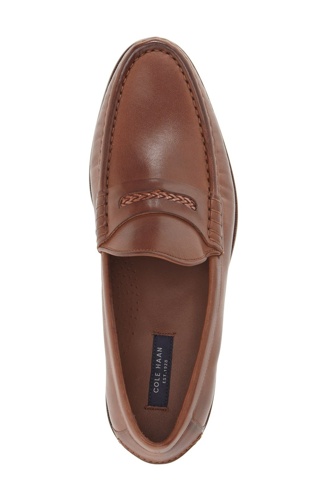 'Pinch Gotham' Penny Loafer,                             Alternate thumbnail 9, color,