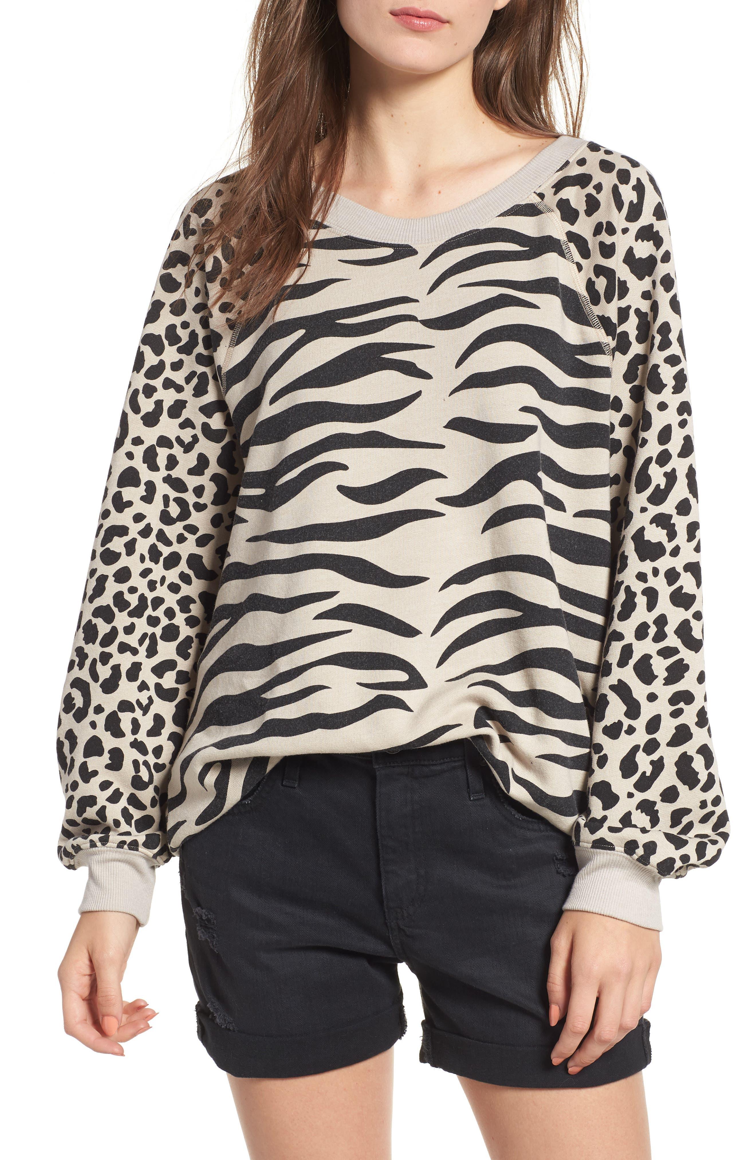 Easy Tiger Sommers Sweatshirt,                         Main,                         color, MADERAS TAN