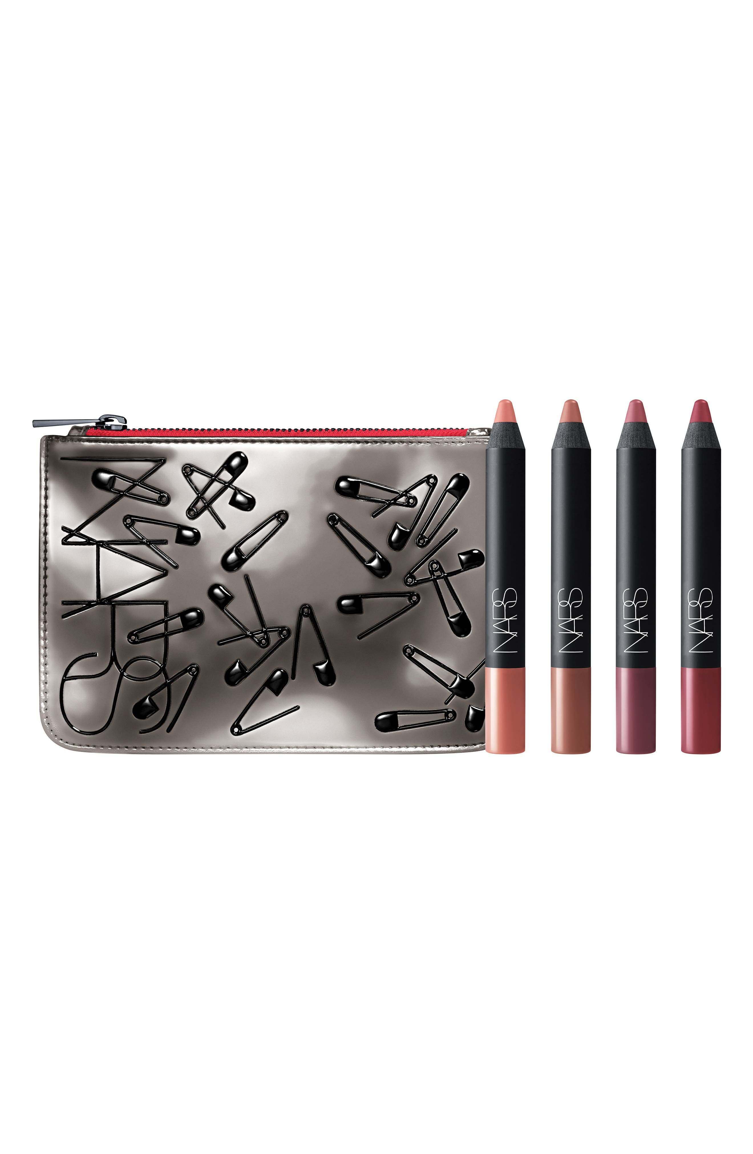 Ransom Velvet Matte Lip Pencil Set,                         Main,                         color, NO COLOR