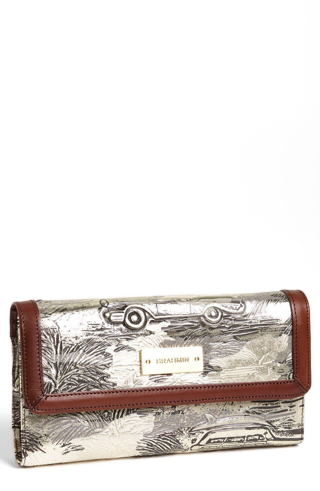 'Copa Cabana' Checkbook Wallet,                             Main thumbnail 1, color,                             040