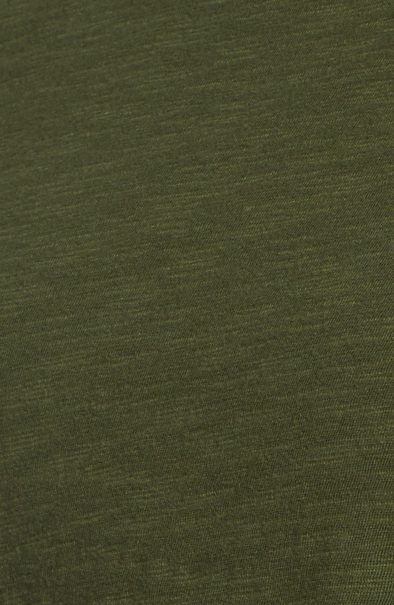 Long Sleeve Logo Tee,                             Alternate thumbnail 5, color,                             321