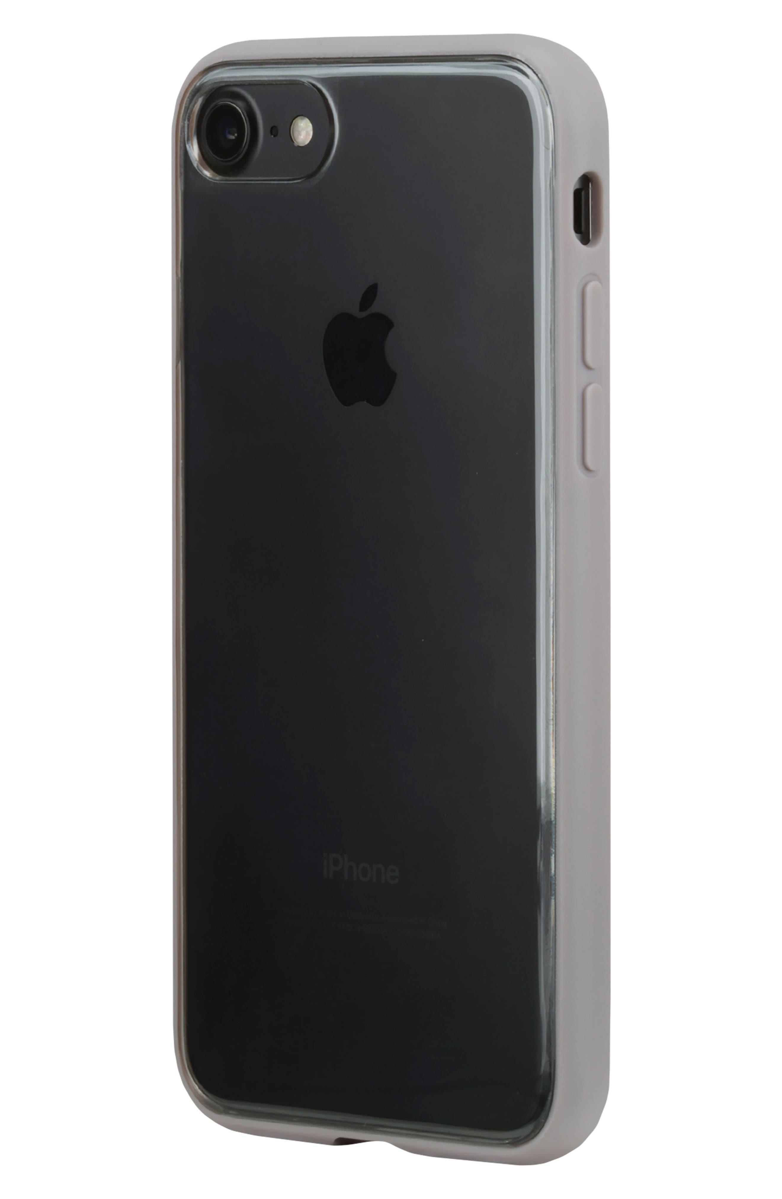 Pop Case Clear iPhone 7 Plus/8 Plus Case,                             Alternate thumbnail 6, color,                             100
