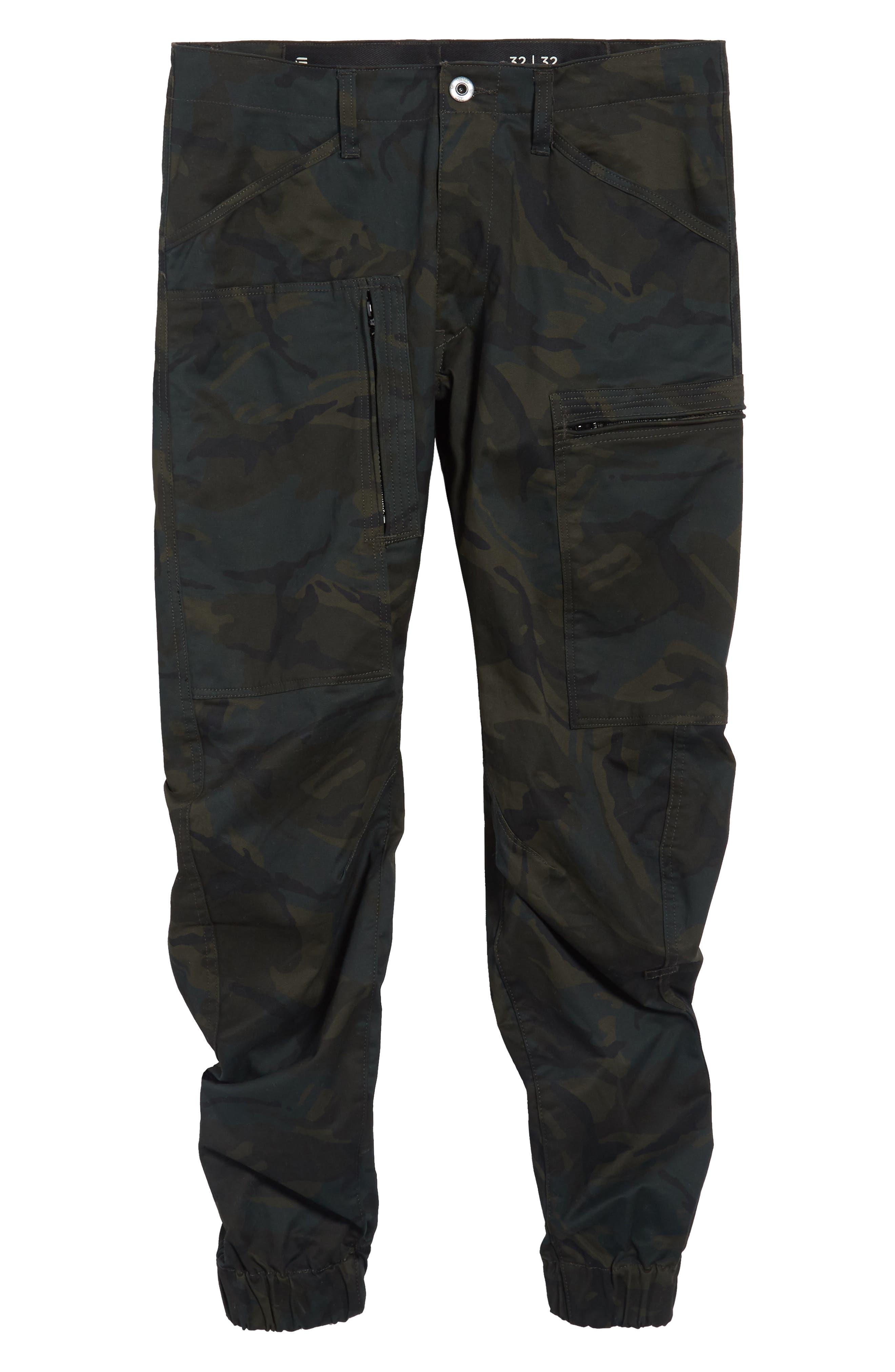 Powel 3D Tapered Jogger Pants,                             Alternate thumbnail 6, color,                             020