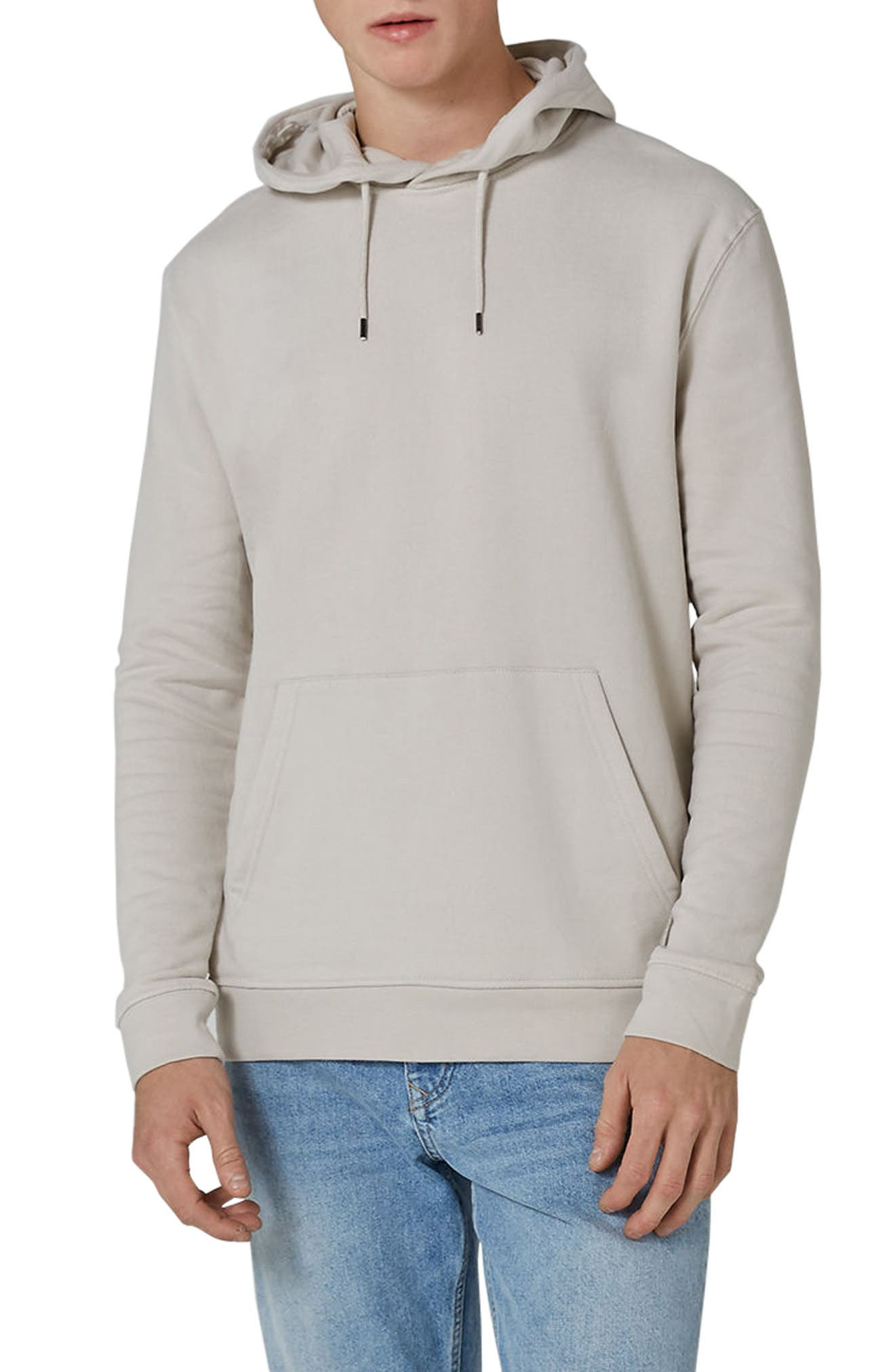 Classic Hoodie,                         Main,                         color, STONE